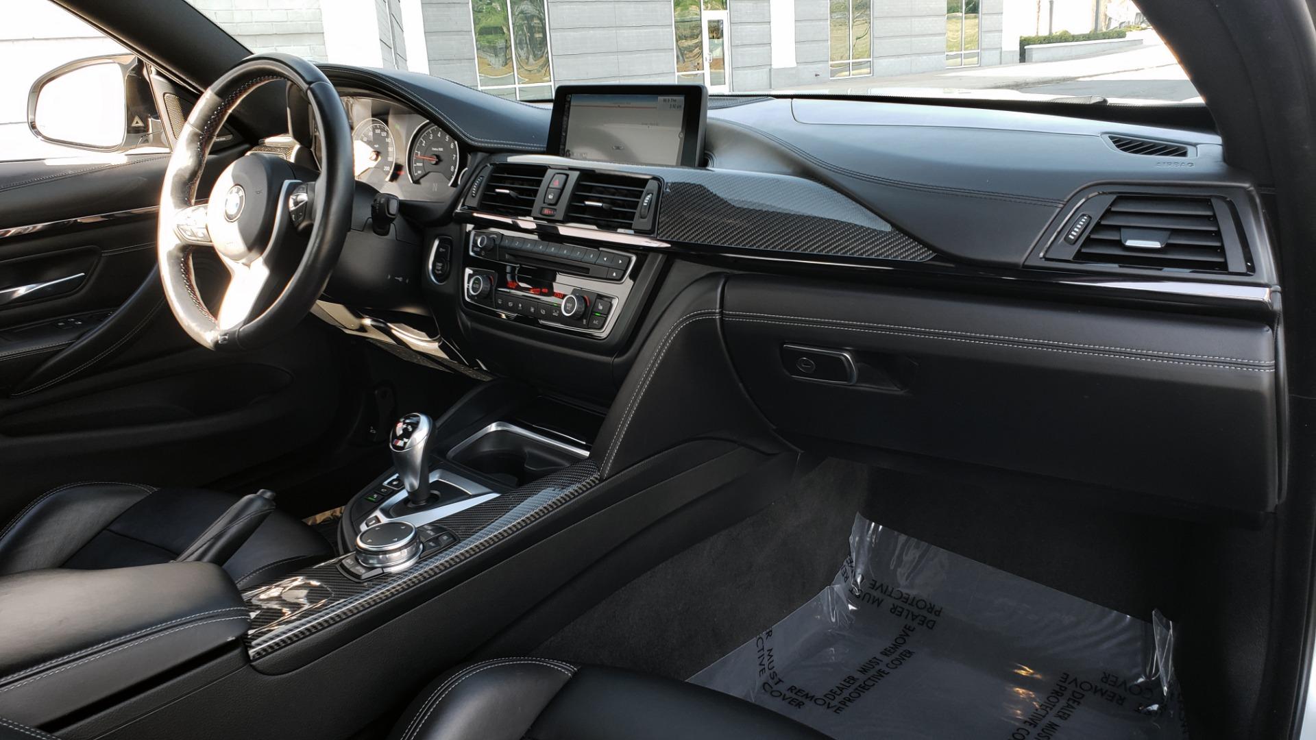 Used 2015 BMW M4 COUPE / EXEC PKG / DRVR ASST PLUS / LIGHTING / M-SUSPENSION for sale Sold at Formula Imports in Charlotte NC 28227 78