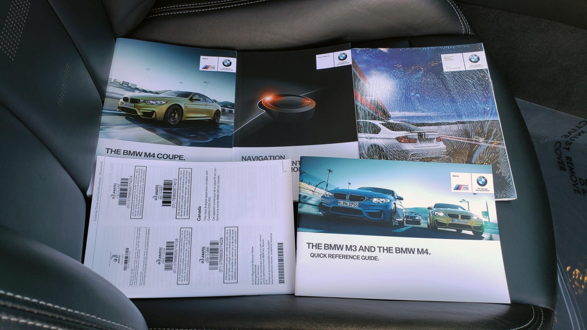 Used 2015 BMW M4 COUPE / EXEC PKG / DRVR ASST PLUS / LIGHTING / M-SUSPENSION for sale Sold at Formula Imports in Charlotte NC 28227 91