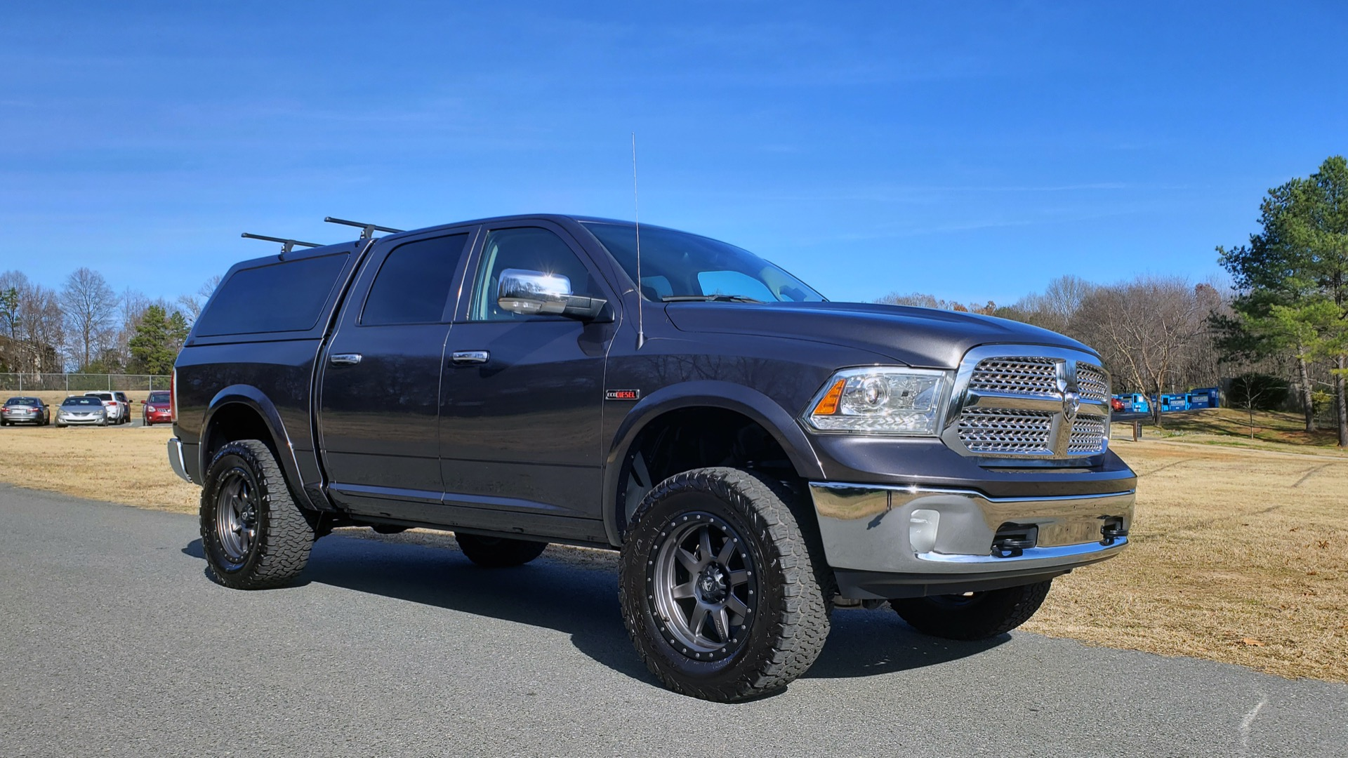 Used 2016 Ram 1500 LARAMIE CC 4X4 / DIESEL/LIFT/CUSTOM for sale Sold at Formula Imports in Charlotte NC 28227 22