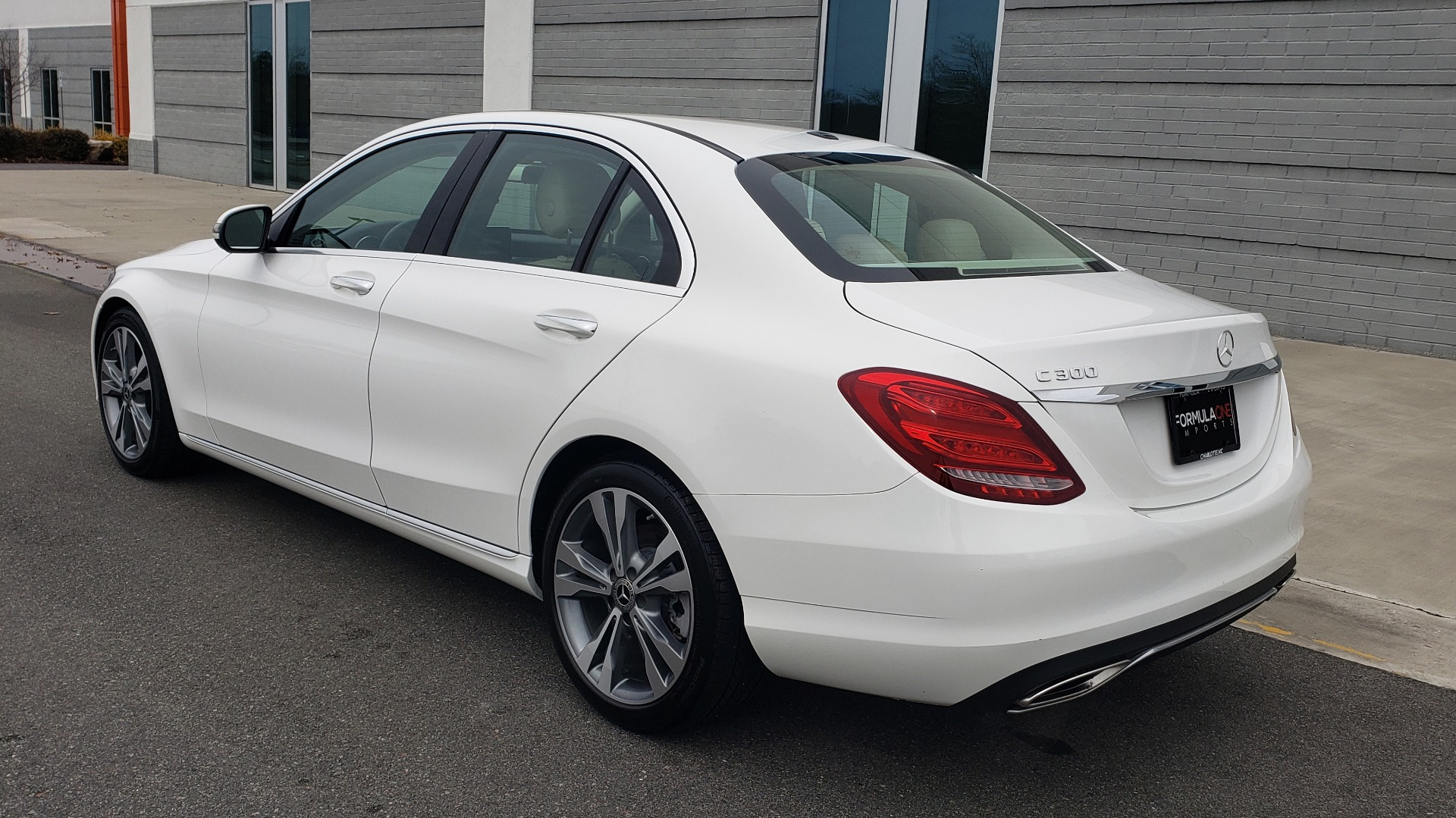 Used 2018 Mercedes-Benz C-CLASS C 300 PREMIUM / NAV / HTD STS / APPLY CARPLAY / REARVIEW for sale $26,695 at Formula Imports in Charlotte NC 28227 3