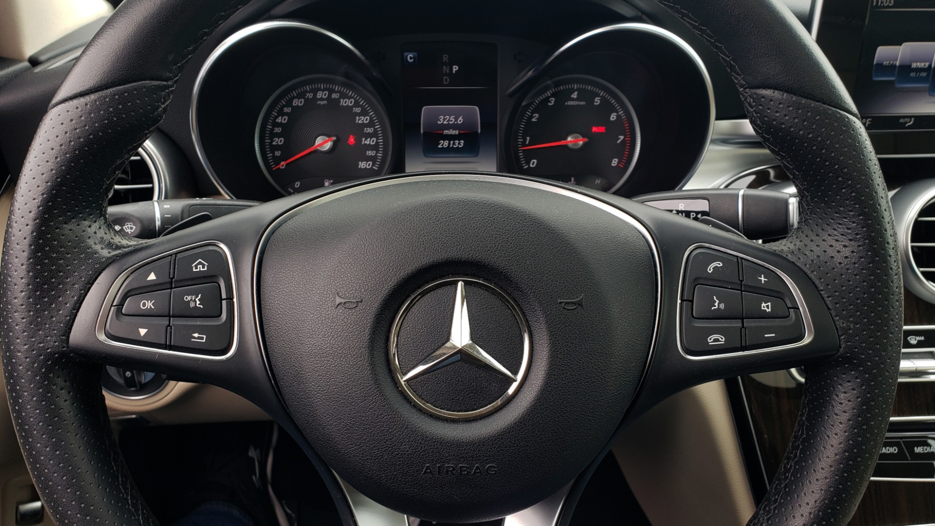 Used 2018 Mercedes-Benz C-CLASS C 300 PREMIUM / NAV / HTD STS / APPLY CARPLAY / REARVIEW for sale $26,695 at Formula Imports in Charlotte NC 28227 37