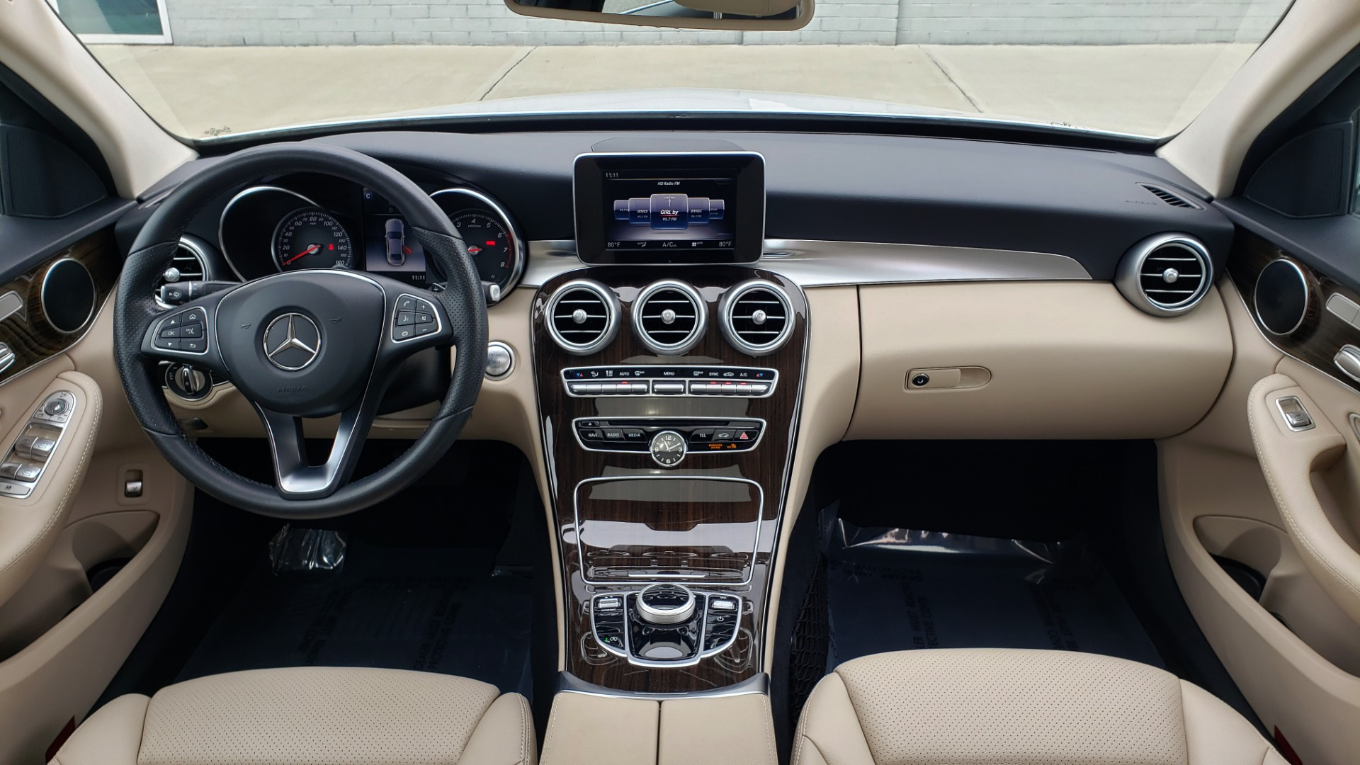 Used 2018 Mercedes-Benz C-CLASS C 300 PREMIUM / NAV / HTD STS / APPLY CARPLAY / REARVIEW for sale $26,695 at Formula Imports in Charlotte NC 28227 79