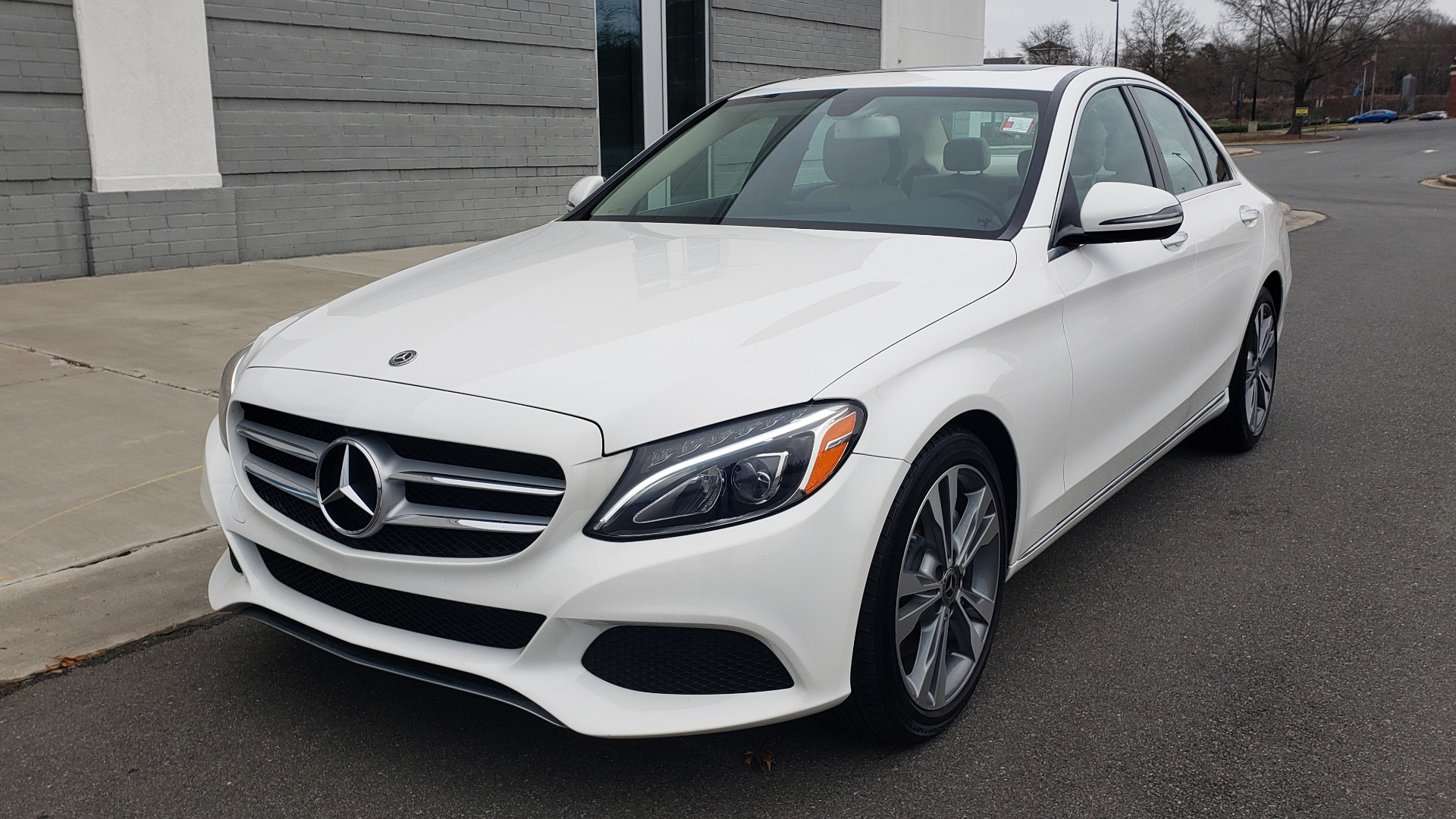 Used 2018 Mercedes-Benz C-CLASS C 300 PREMIUM / NAV / HTD STS / APPLE CARPLAY / REARVIEW for sale Sold at Formula Imports in Charlotte NC 28227 1