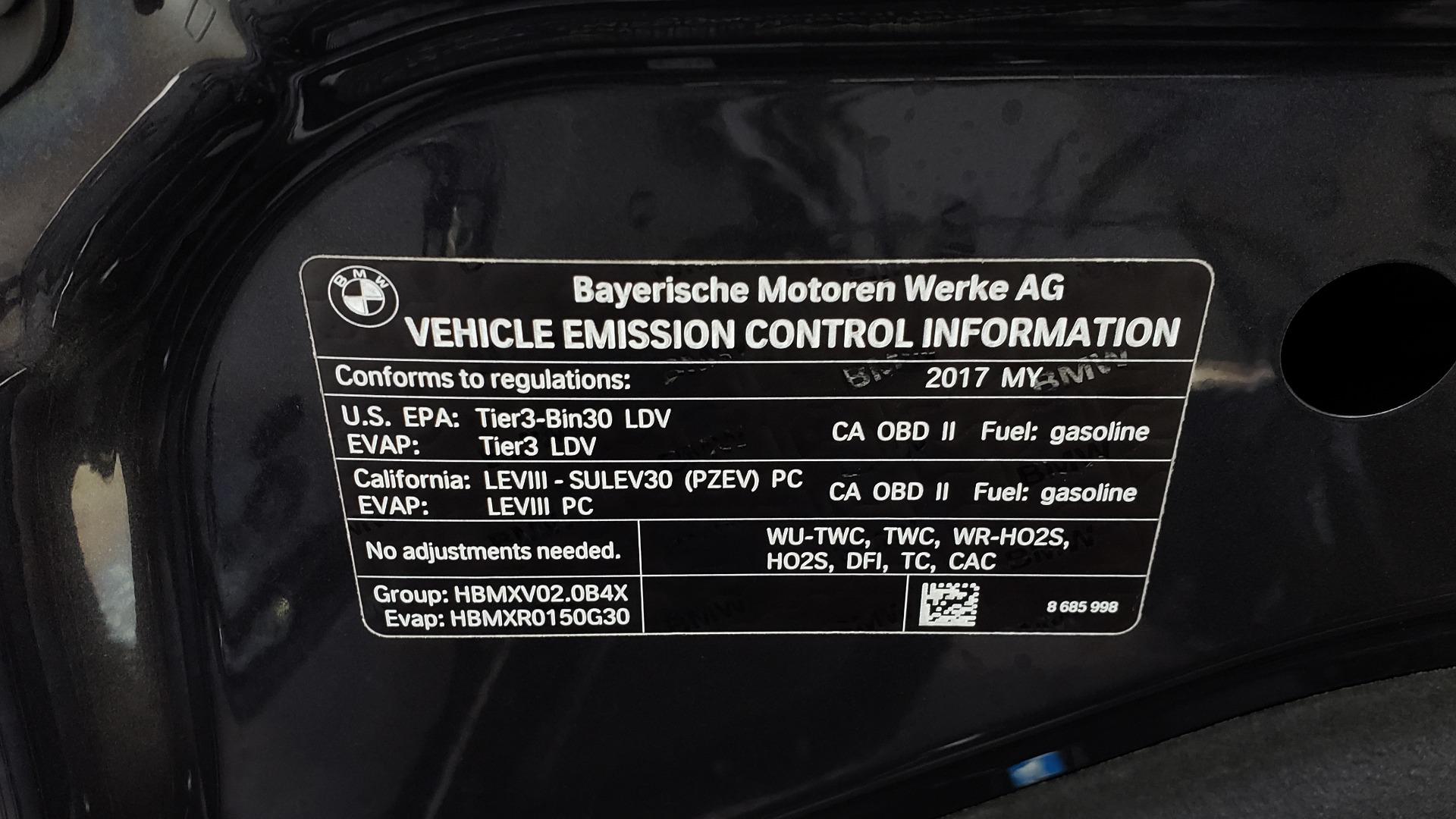 Used 2017 BMW 5 SERIES 530IXDRIVE / PREM PKG / DRVR ASST PLUS / CLD WTHR / APPLE CARPLAY for sale Sold at Formula Imports in Charlotte NC 28227 12