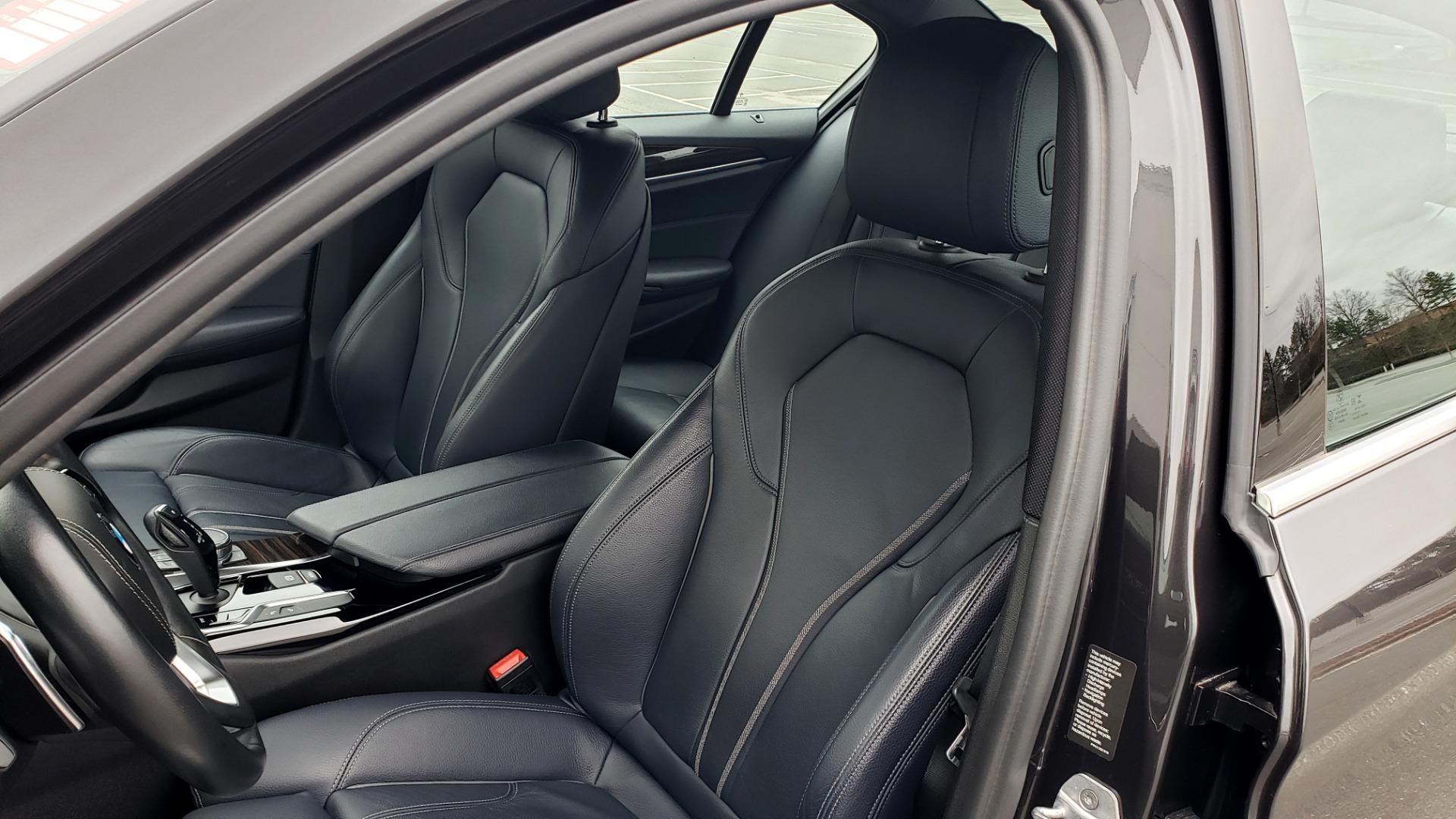 Used 2017 BMW 5 SERIES 530IXDRIVE / PREM PKG / DRVR ASST PLUS / CLD WTHR / APPLE CARPLAY for sale Sold at Formula Imports in Charlotte NC 28227 34