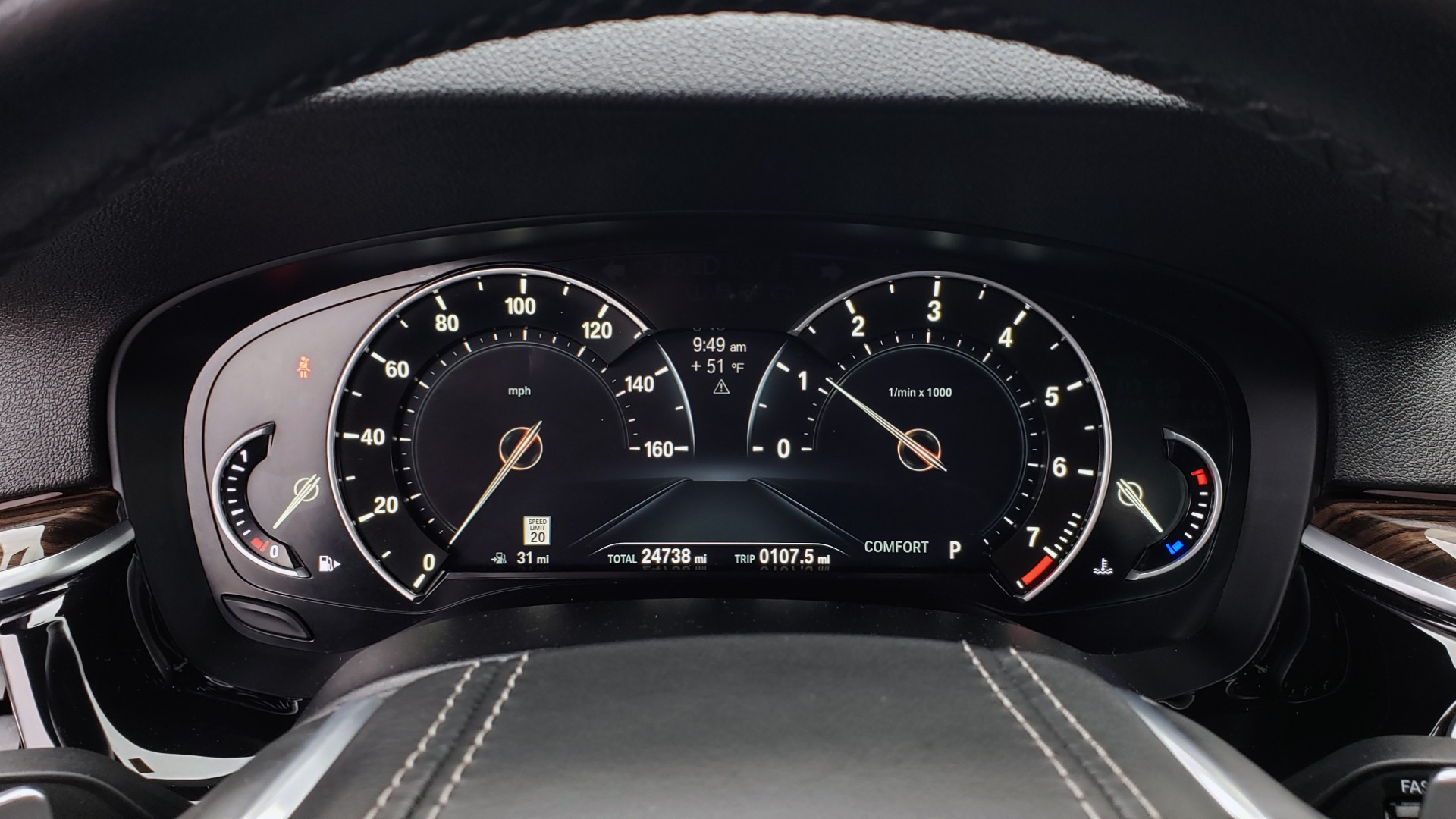 Used 2017 BMW 5 SERIES 530IXDRIVE / PREM PKG / DRVR ASST PLUS / CLD WTHR / APPLE CARPLAY for sale $30,595 at Formula Imports in Charlotte NC 28227 40