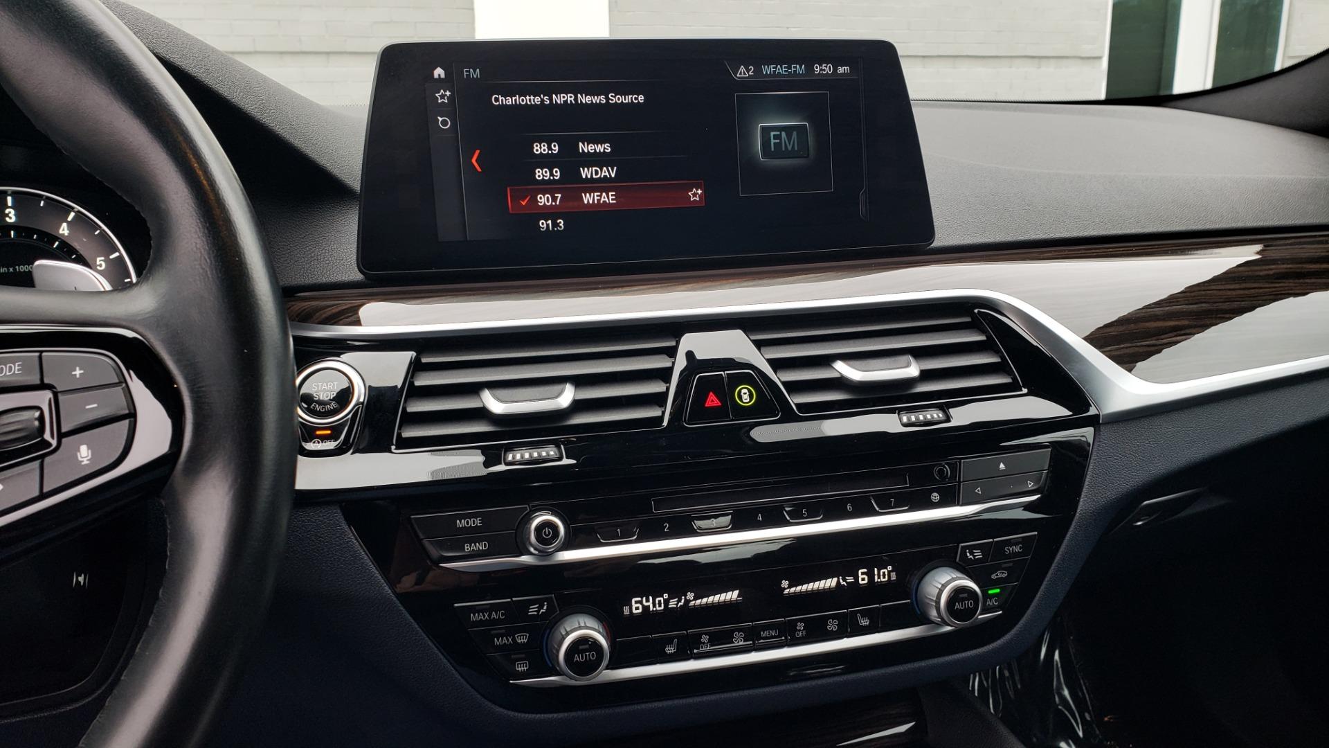 Used 2017 BMW 5 SERIES 530IXDRIVE / PREM PKG / DRVR ASST PLUS / CLD WTHR / APPLE CARPLAY for sale $30,595 at Formula Imports in Charlotte NC 28227 44