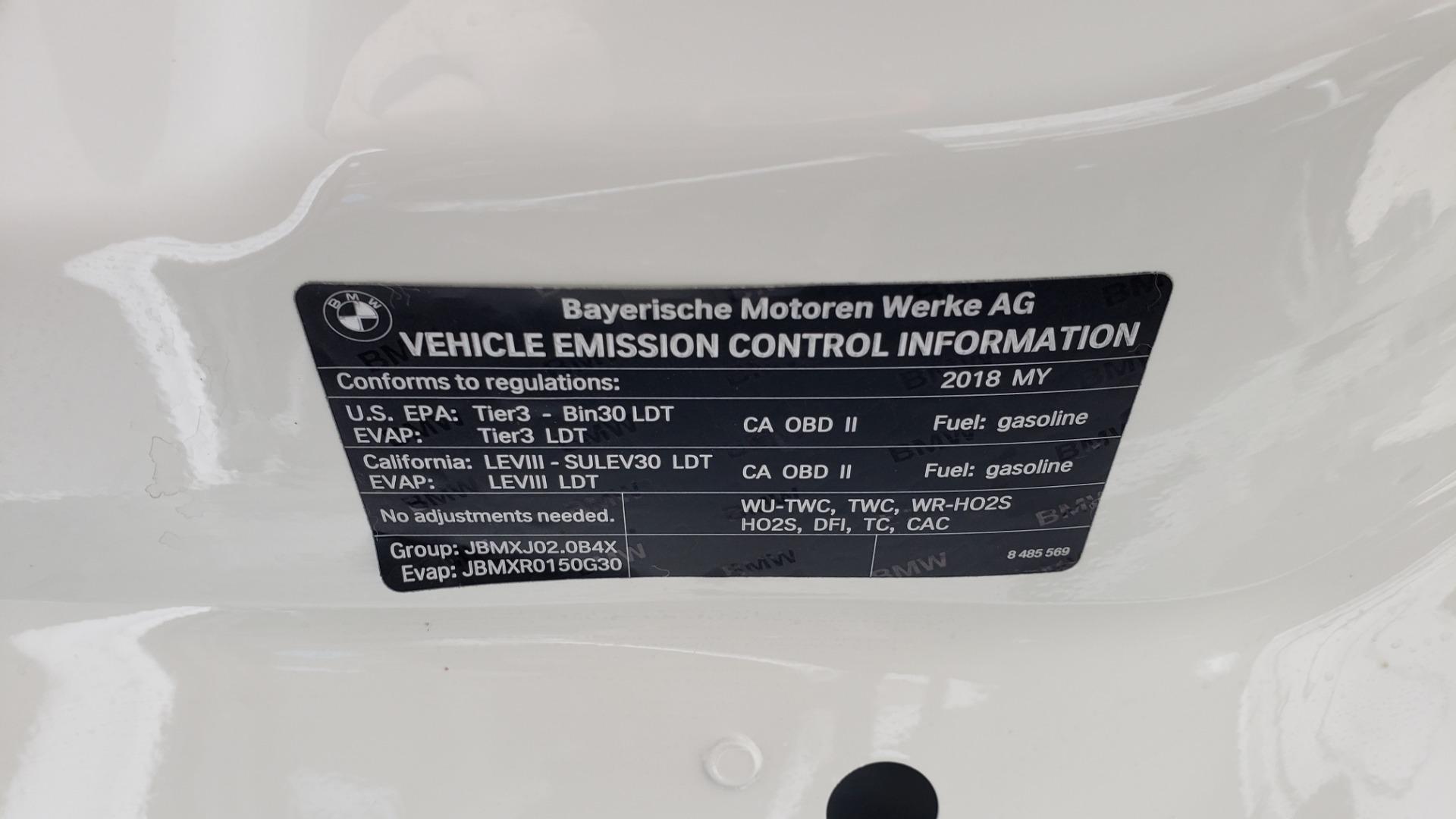 Used 2018 BMW X3 XDRIVE30I / LUX PKG / PREM PKG / CONV PKG / PDC / APPLE CARPLAY for sale Sold at Formula Imports in Charlotte NC 28227 15
