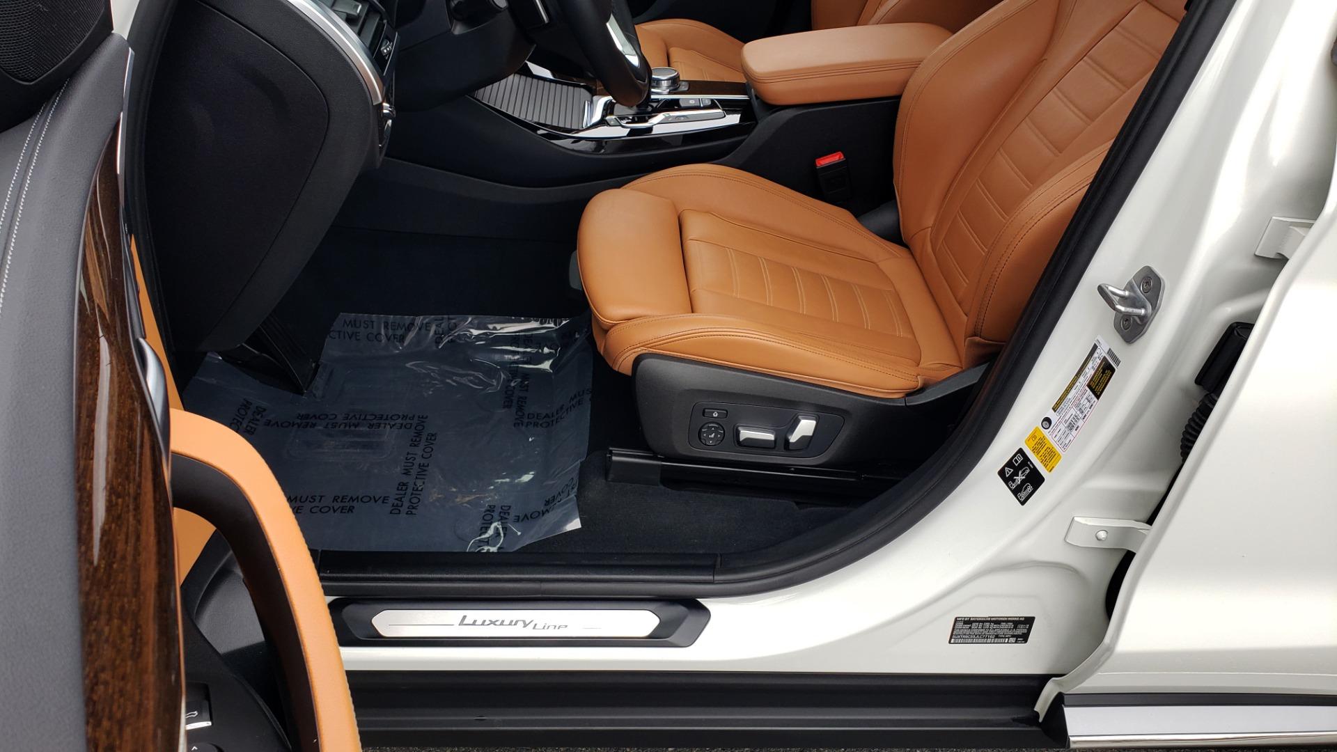 Used 2018 BMW X3 XDRIVE30I / LUX PKG / PREM PKG / CONV PKG / PDC / APPLE CARPLAY for sale Sold at Formula Imports in Charlotte NC 28227 37