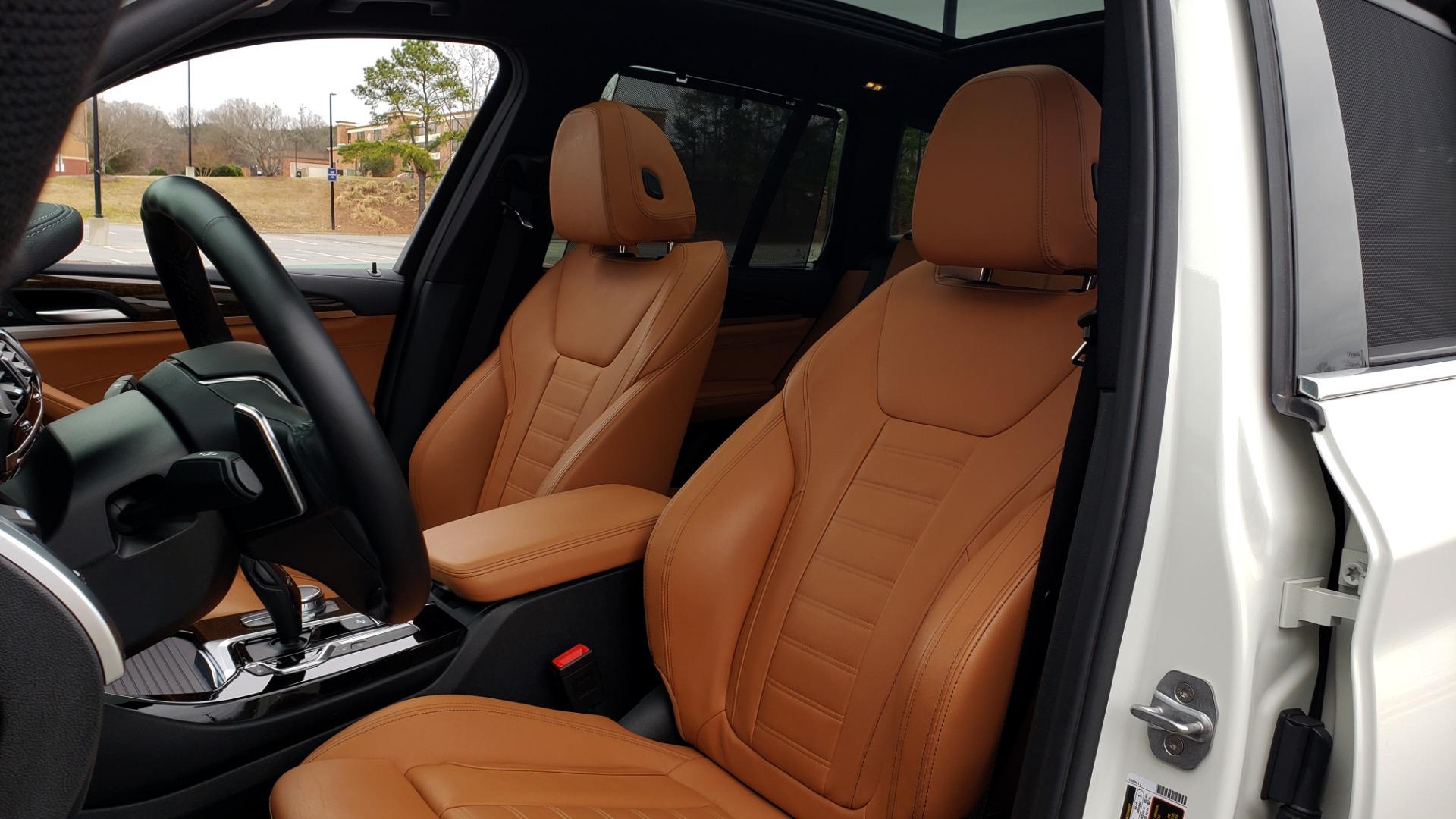 Used 2018 BMW X3 XDRIVE30I / LUX PKG / PREM PKG / CONV PKG / PDC / APPLE CARPLAY for sale Sold at Formula Imports in Charlotte NC 28227 38