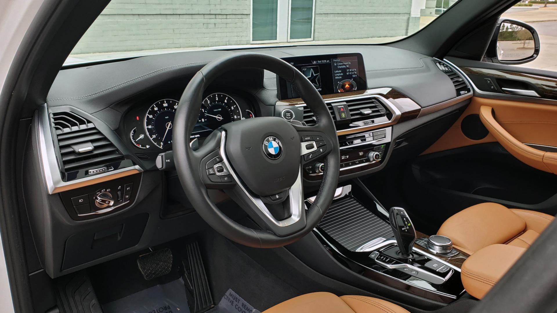 Used 2018 BMW X3 XDRIVE30I / LUX PKG / PREM PKG / CONV PKG / PDC / APPLE CARPLAY for sale Sold at Formula Imports in Charlotte NC 28227 40