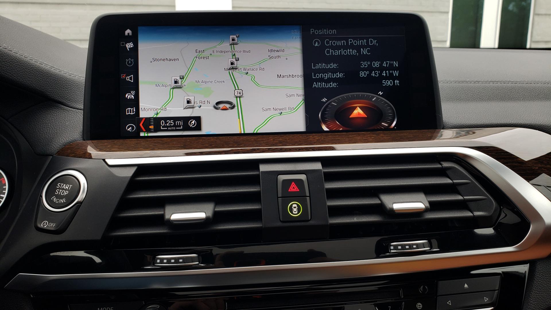 Used 2018 BMW X3 XDRIVE30I / LUX PKG / PREM PKG / CONV PKG / PDC / APPLE CARPLAY for sale Sold at Formula Imports in Charlotte NC 28227 48