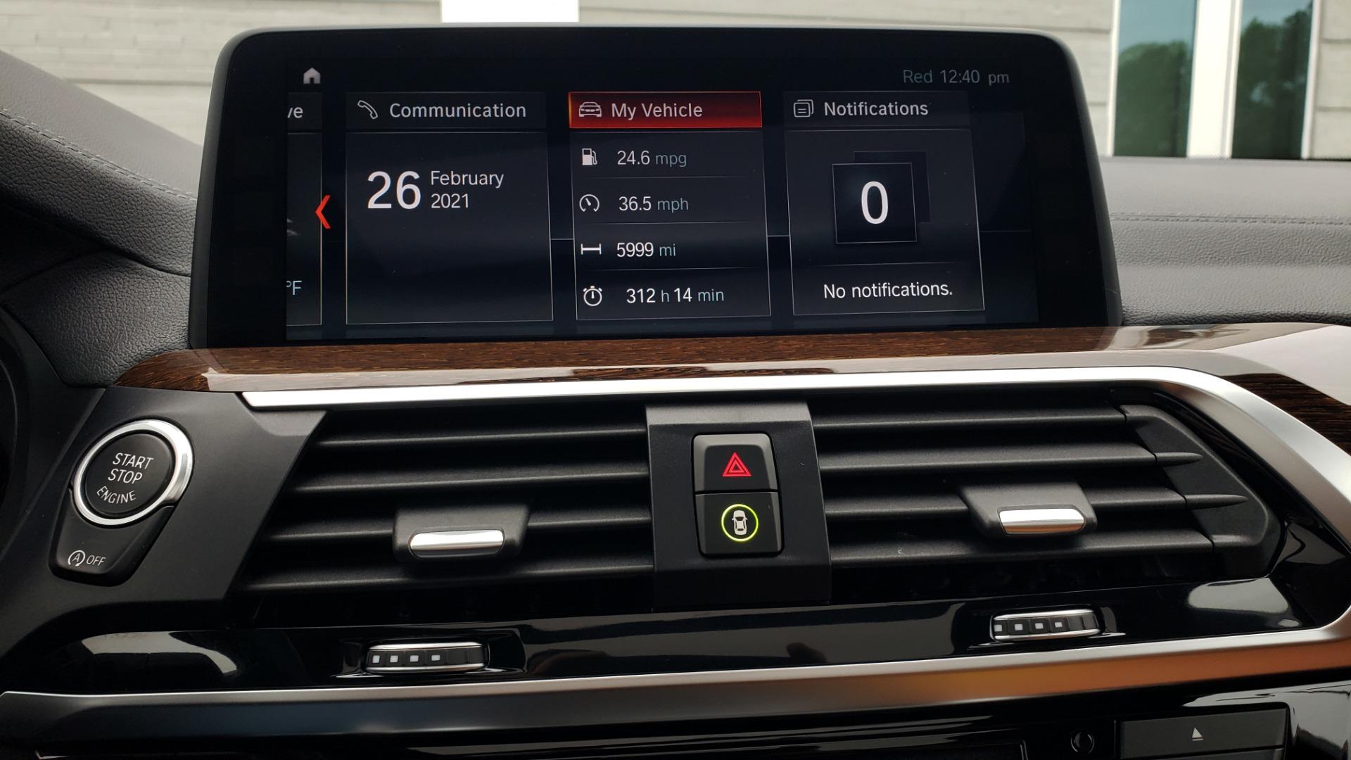 Used 2018 BMW X3 XDRIVE30I / LUX PKG / PREM PKG / CONV PKG / PDC / APPLE CARPLAY for sale Sold at Formula Imports in Charlotte NC 28227 49