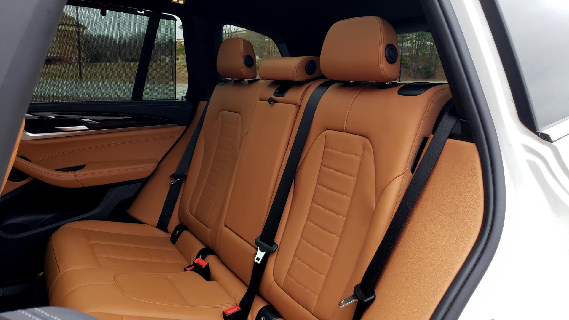 Used 2018 BMW X3 XDRIVE30I / LUX PKG / PREM PKG / CONV PKG / PDC / APPLE CARPLAY for sale Sold at Formula Imports in Charlotte NC 28227 65