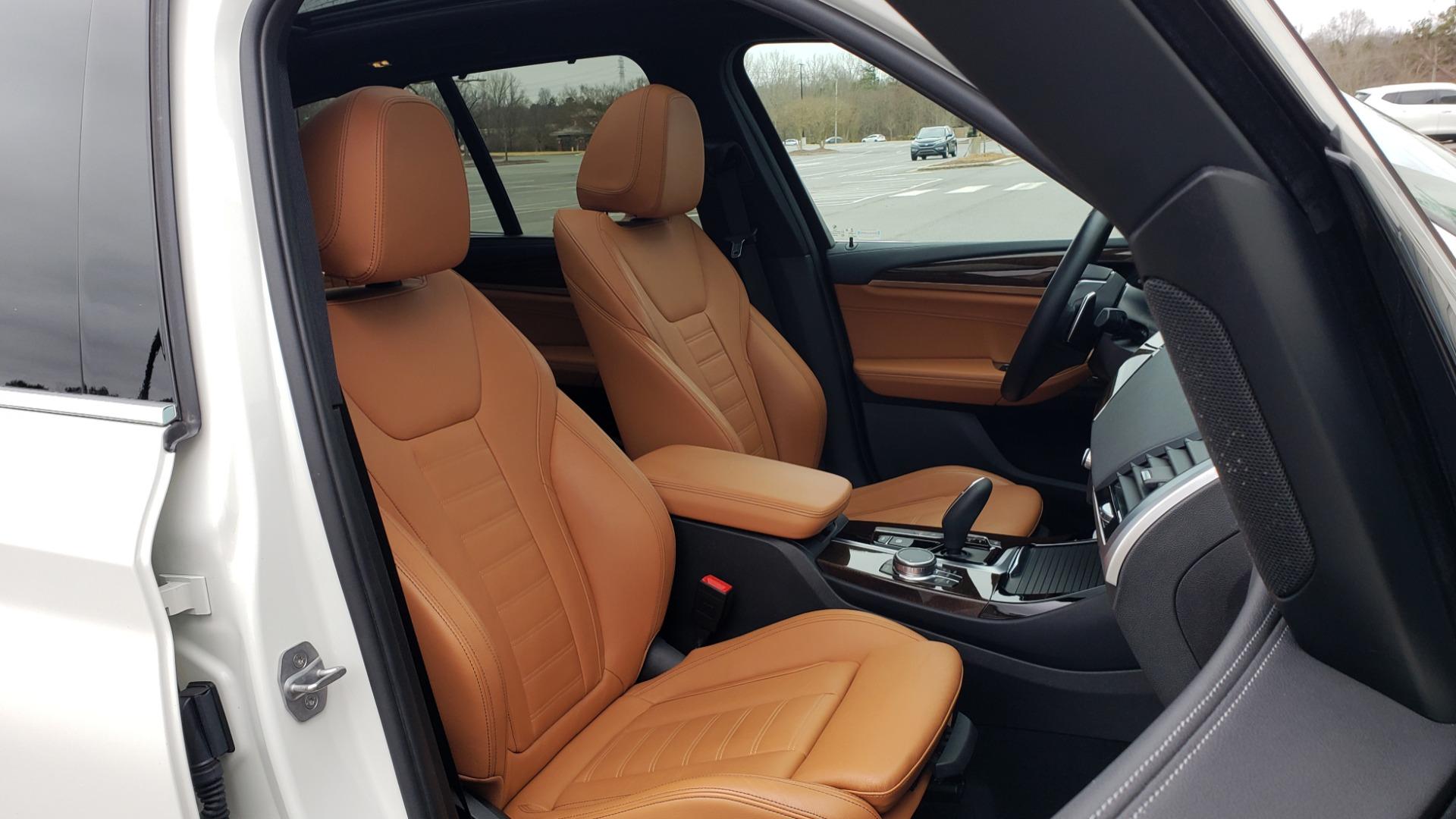 Used 2018 BMW X3 XDRIVE30I / LUX PKG / PREM PKG / CONV PKG / PDC / APPLE CARPLAY for sale Sold at Formula Imports in Charlotte NC 28227 73