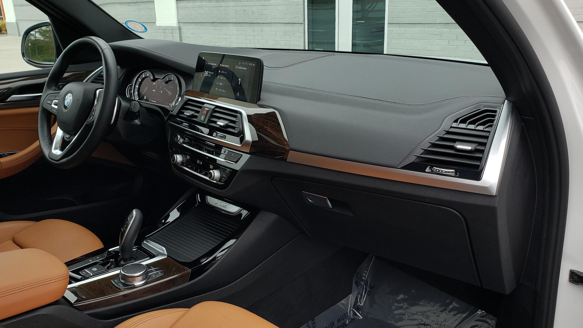 Used 2018 BMW X3 XDRIVE30I / LUX PKG / PREM PKG / CONV PKG / PDC / APPLE CARPLAY for sale Sold at Formula Imports in Charlotte NC 28227 74