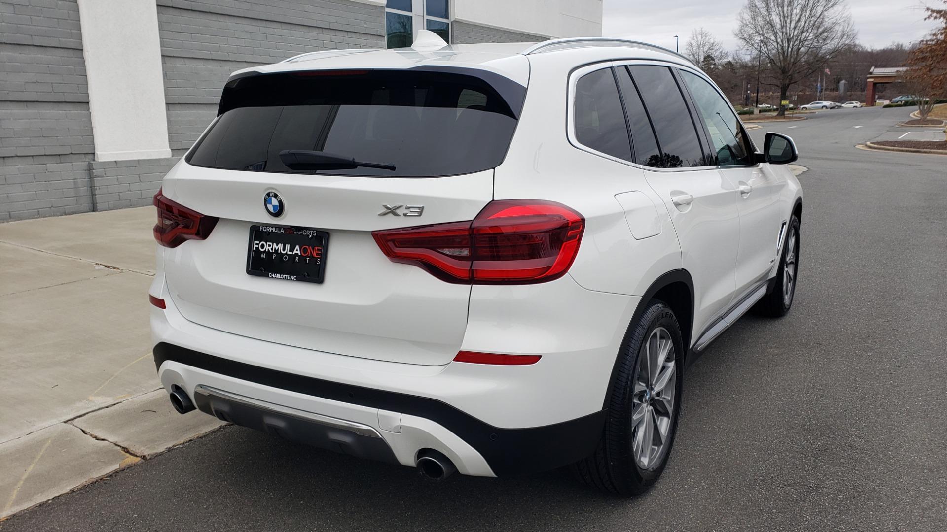 Used 2018 BMW X3 XDRIVE30I / LUX PKG / PREM PKG / CONV PKG / PDC / APPLE CARPLAY for sale Sold at Formula Imports in Charlotte NC 28227 8
