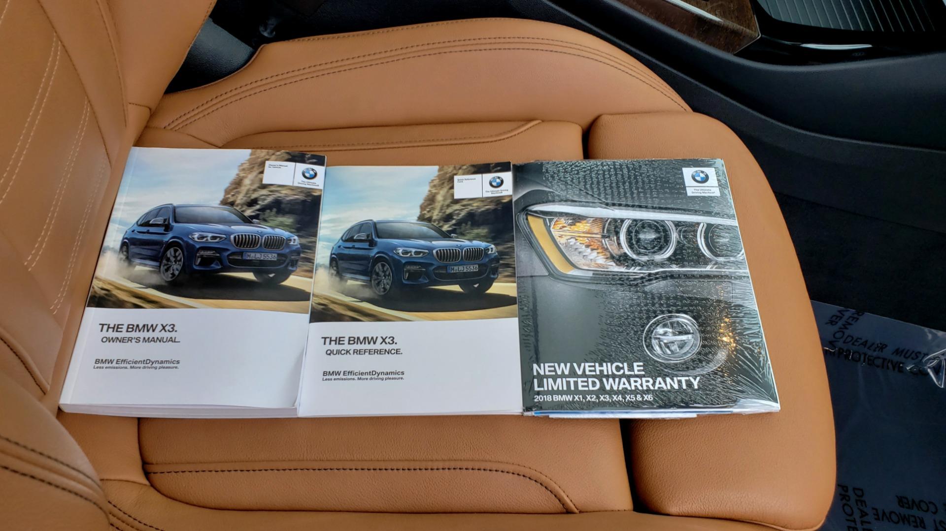 Used 2018 BMW X3 XDRIVE30I / LUX PKG / PREM PKG / CONV PKG / PDC / APPLE CARPLAY for sale Sold at Formula Imports in Charlotte NC 28227 97