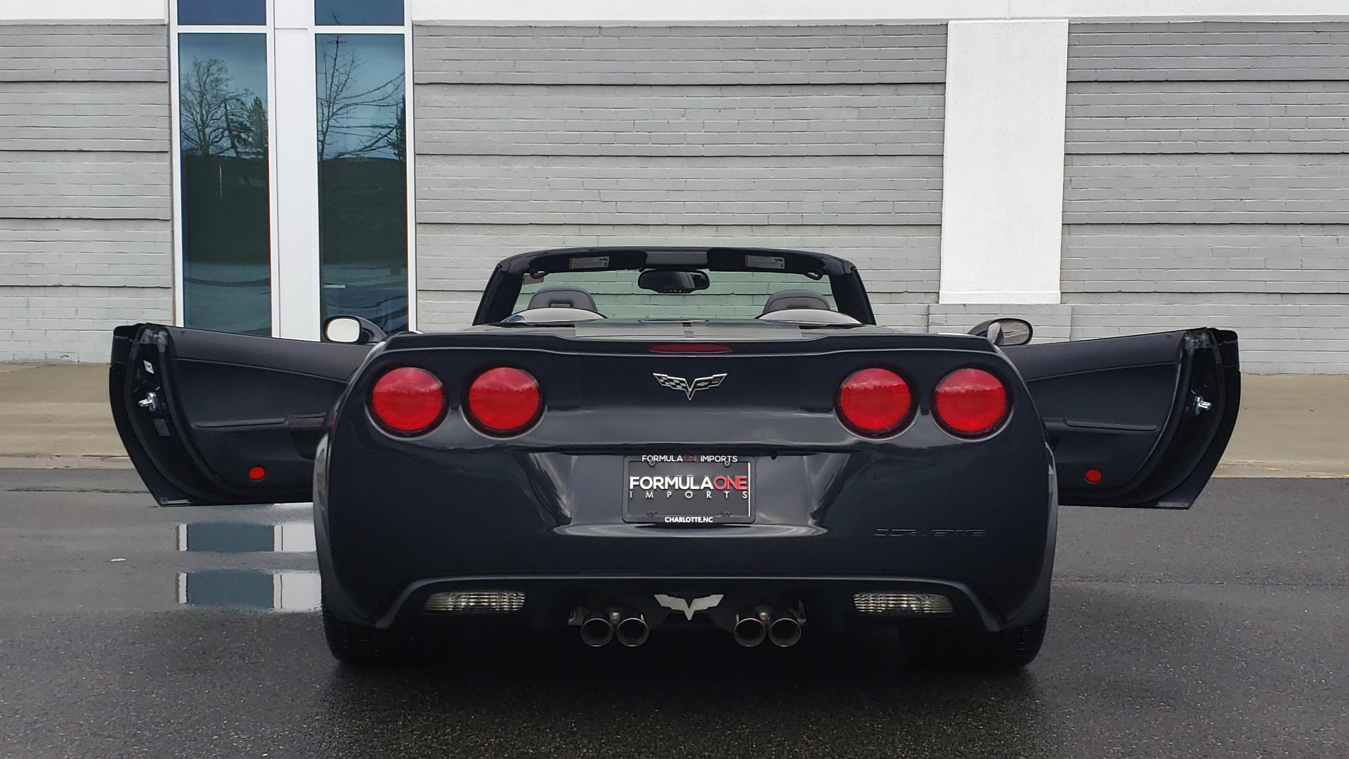 Used 2012 Chevrolet CORVETTE Z16 GRAND SPORT 3LT CONVERTIBLE / 6-SPD AUTO / NAV for sale Sold at Formula Imports in Charlotte NC 28227 36