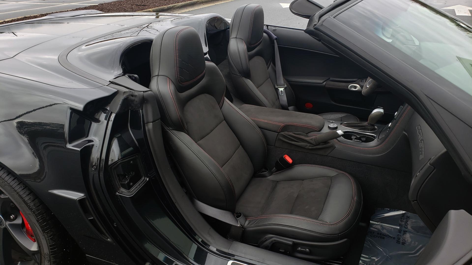 Used 2012 Chevrolet CORVETTE Z16 GRAND SPORT 3LT CONVERTIBLE / 6-SPD AUTO / NAV for sale $38,990 at Formula Imports in Charlotte NC 28227 63