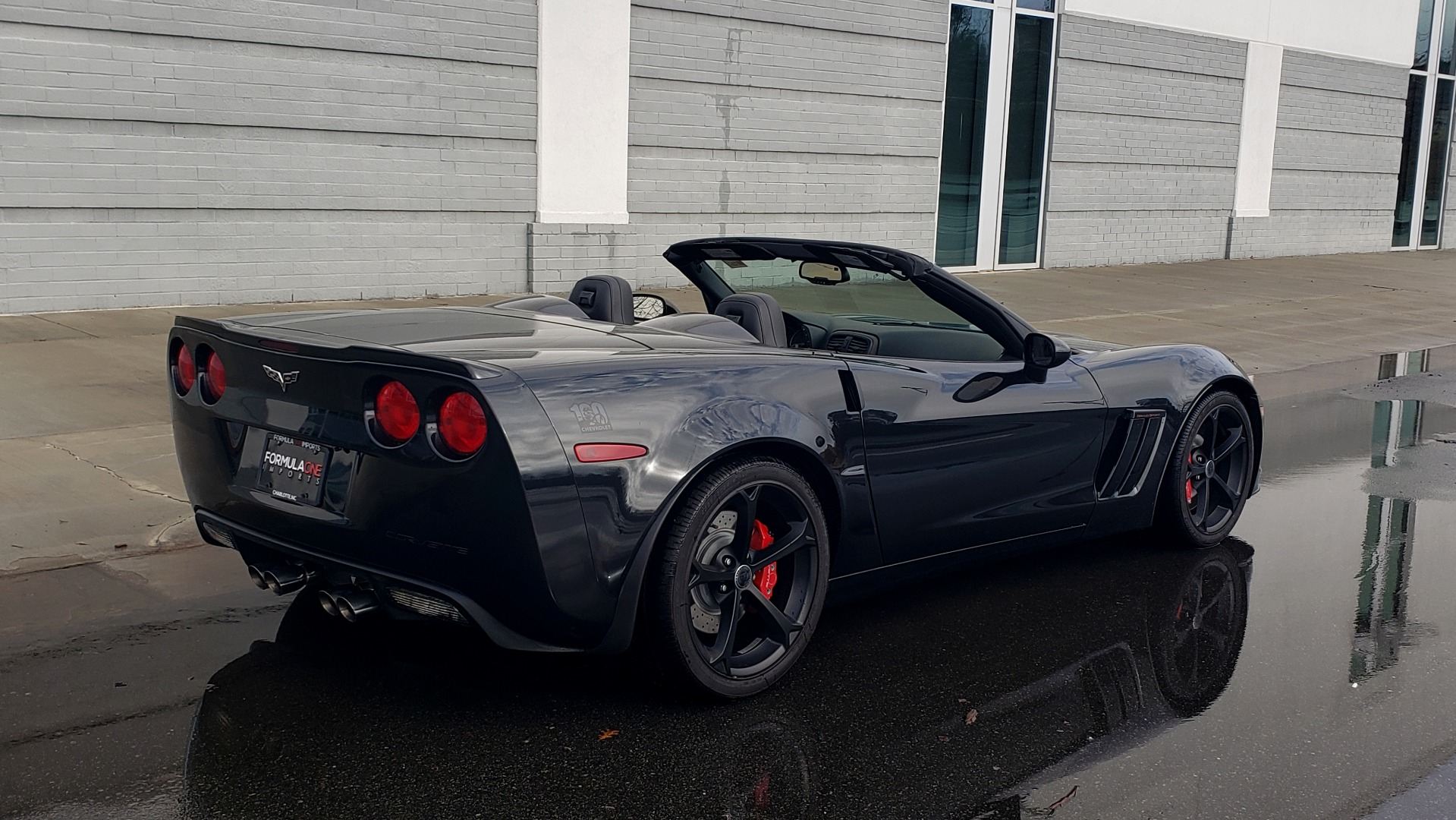 Used 2012 Chevrolet CORVETTE Z16 GRAND SPORT 3LT CONVERTIBLE / 6-SPD AUTO / NAV for sale Sold at Formula Imports in Charlotte NC 28227 8