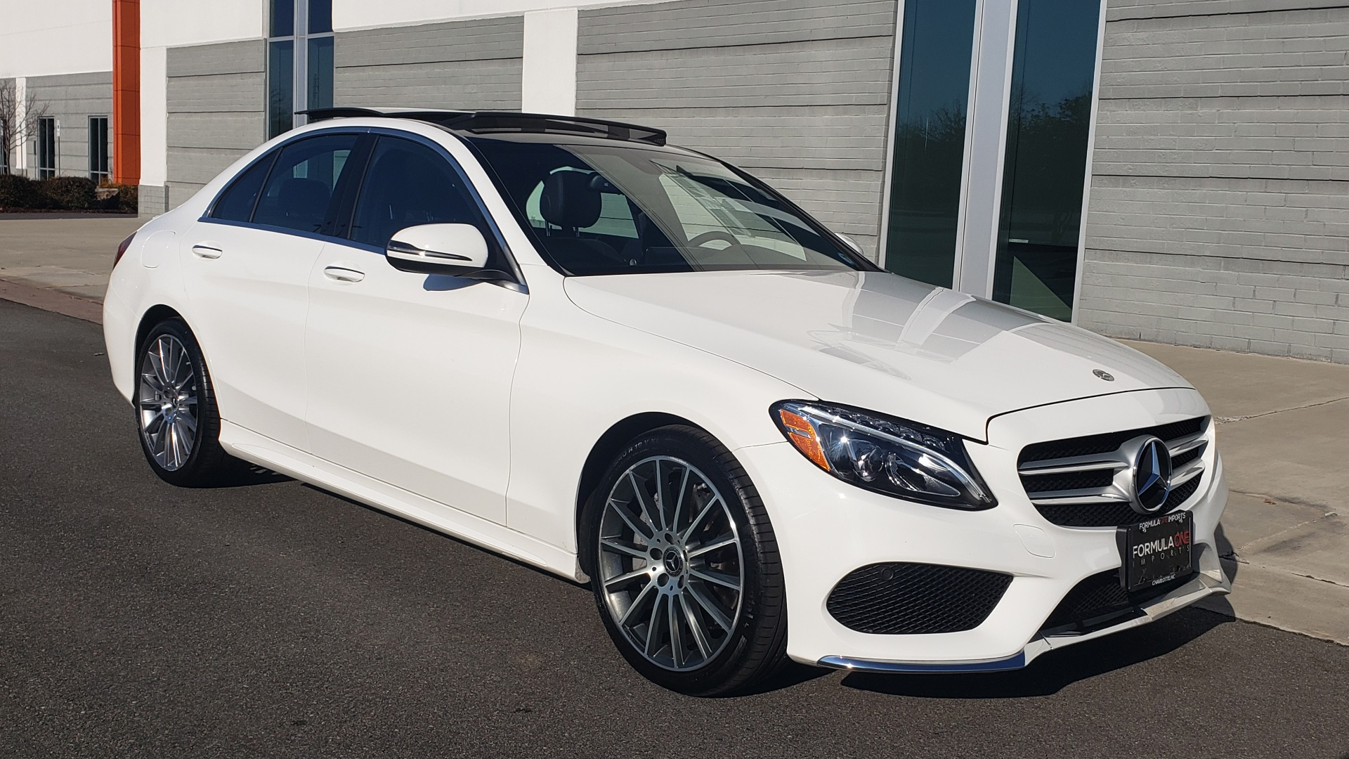Used 2018 Mercedes-Benz C-Class C 300 PREMIUM / NAV / PANO-ROOF / AMG LINE / MULTIMEDIA for sale $28,235 at Formula Imports in Charlotte NC 28227 10