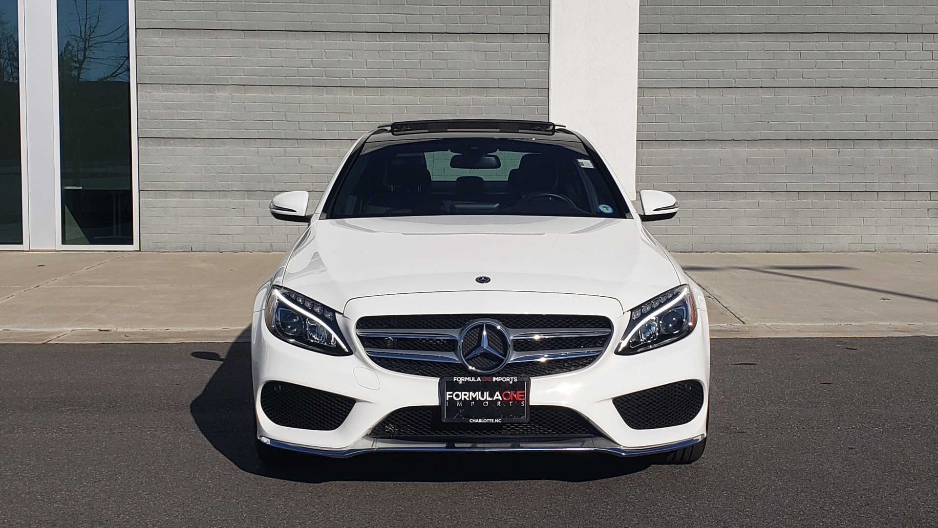 Used 2018 Mercedes-Benz C-Class C 300 PREMIUM / NAV / PANO-ROOF / AMG LINE / MULTIMEDIA for sale $28,235 at Formula Imports in Charlotte NC 28227 20