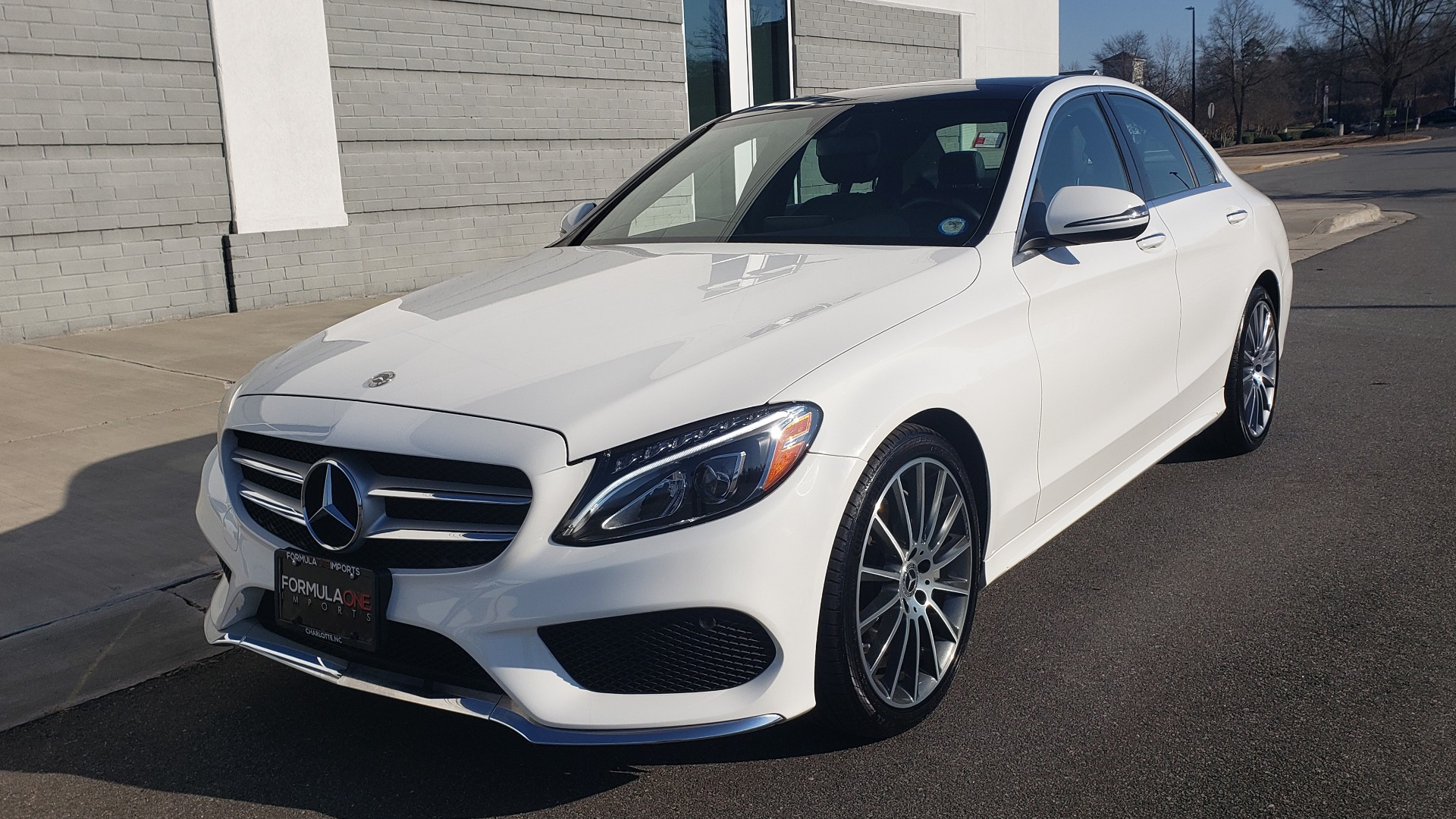 Used 2018 Mercedes-Benz C-Class C 300 PREMIUM / NAV / PANO-ROOF / AMG LINE / MULTIMEDIA for sale $28,235 at Formula Imports in Charlotte NC 28227 3