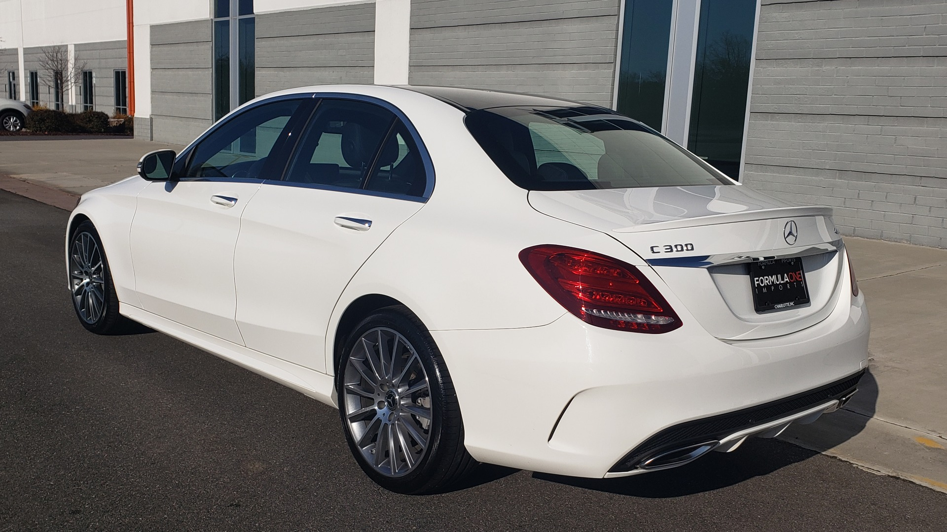 Used 2018 Mercedes-Benz C-Class C 300 PREMIUM / NAV / PANO-ROOF / AMG LINE / MULTIMEDIA for sale $28,235 at Formula Imports in Charlotte NC 28227 5