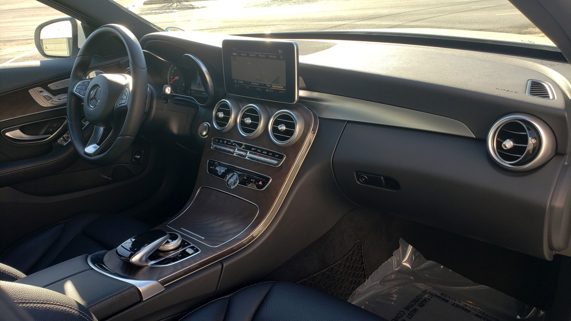 Used 2018 Mercedes-Benz C-Class C 300 PREMIUM / NAV / PANO-ROOF / AMG LINE / MULTIMEDIA for sale $28,235 at Formula Imports in Charlotte NC 28227 65