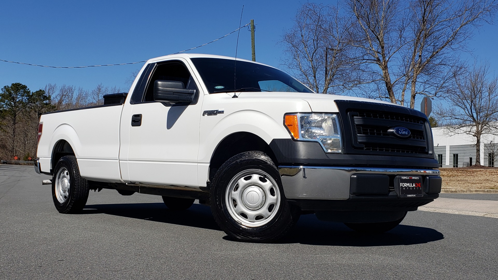Used 2013 Ford F-150 XL / 2WD / V6 / AUTO / LONG BED / 145IN WB / WORK TRUCK for sale Call for price at Formula Imports in Charlotte NC 28227 3