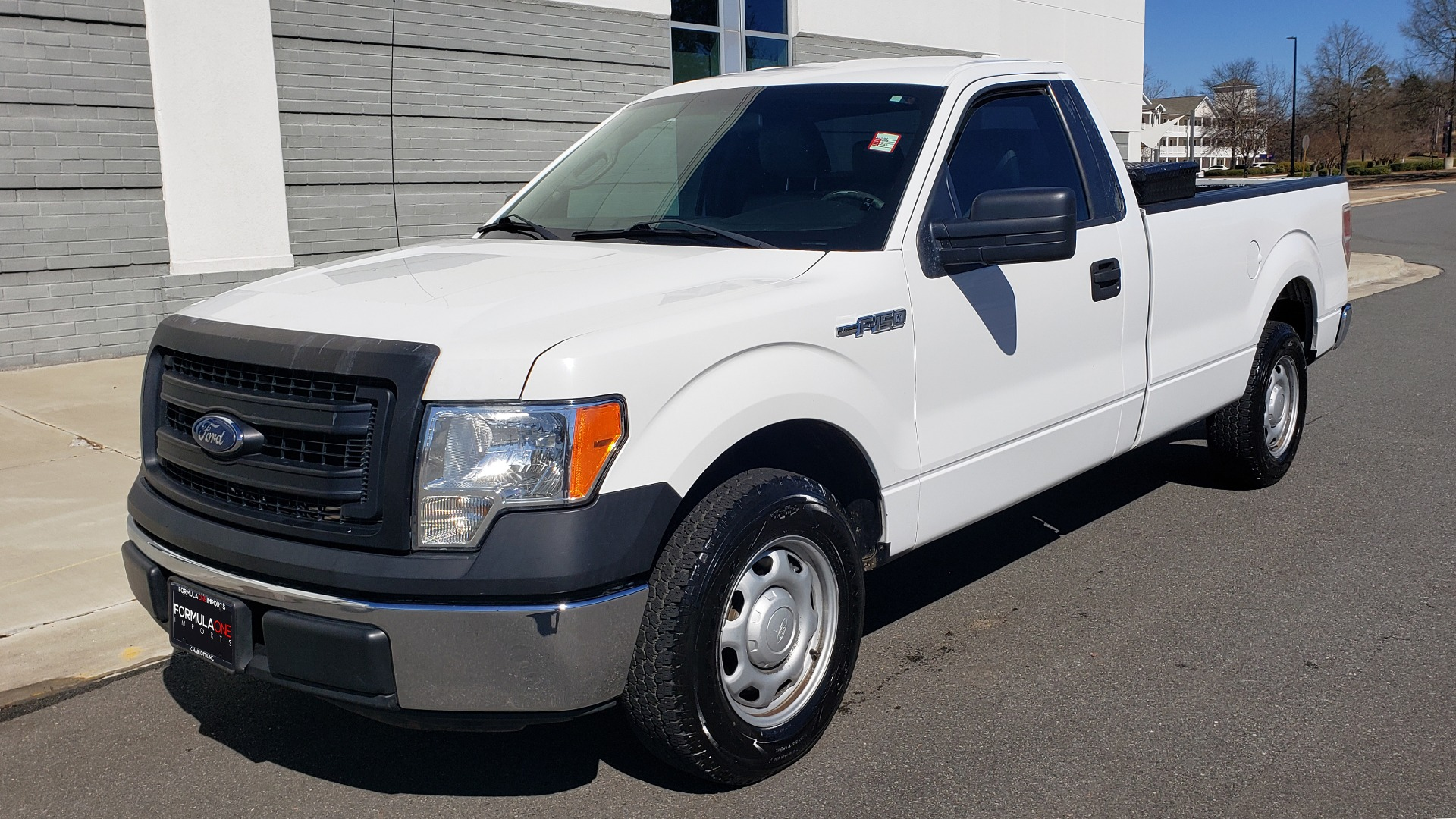 Used 2013 Ford F-150 XL / 2WD / V6 / AUTO / LONG BED / 145IN WB / WORK TRUCK for sale Call for price at Formula Imports in Charlotte NC 28227 4