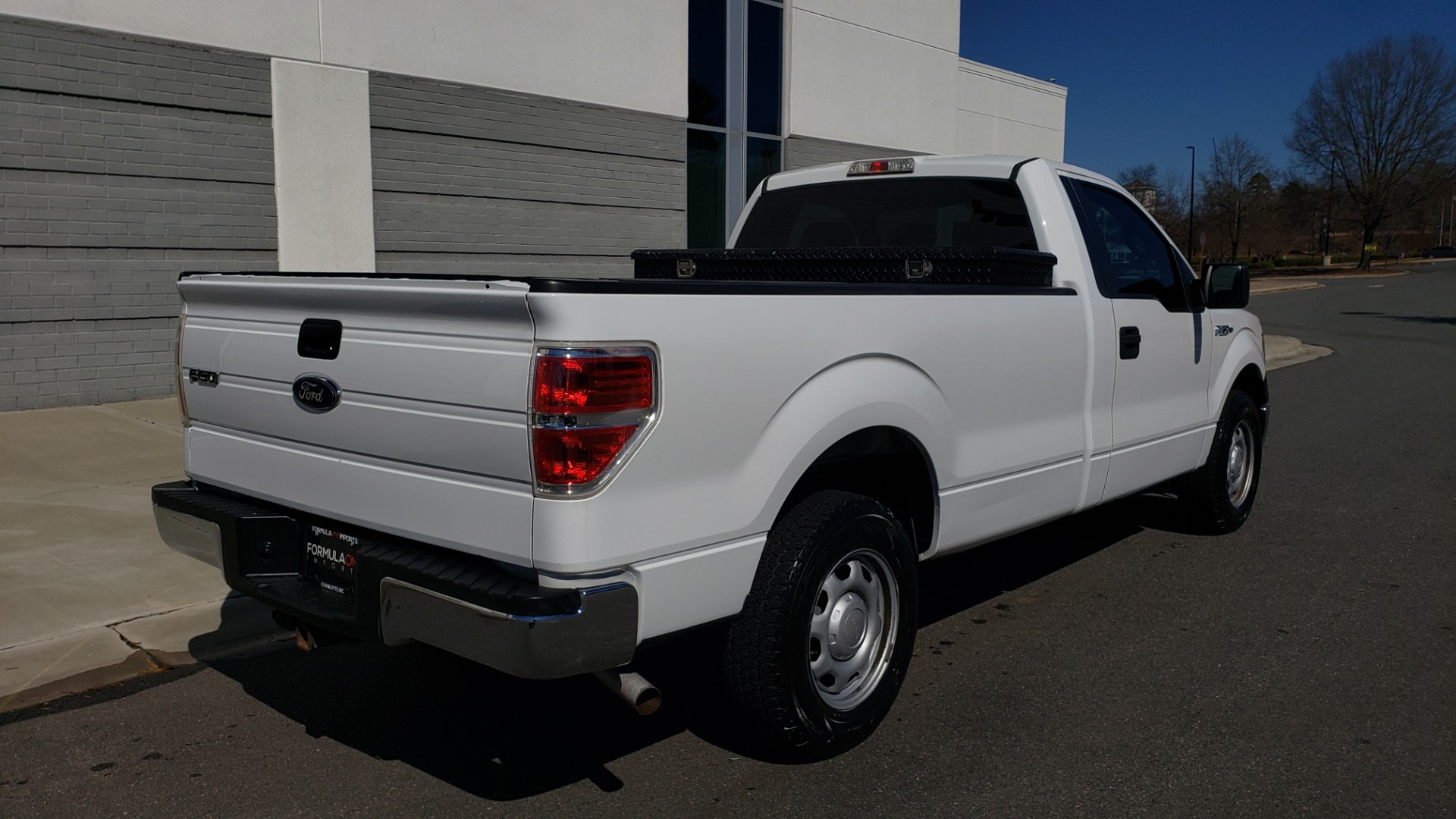Used 2013 Ford F-150 XL / 2WD / V6 / AUTO / LONG BED / 145IN WB / WORK TRUCK for sale Call for price at Formula Imports in Charlotte NC 28227 9