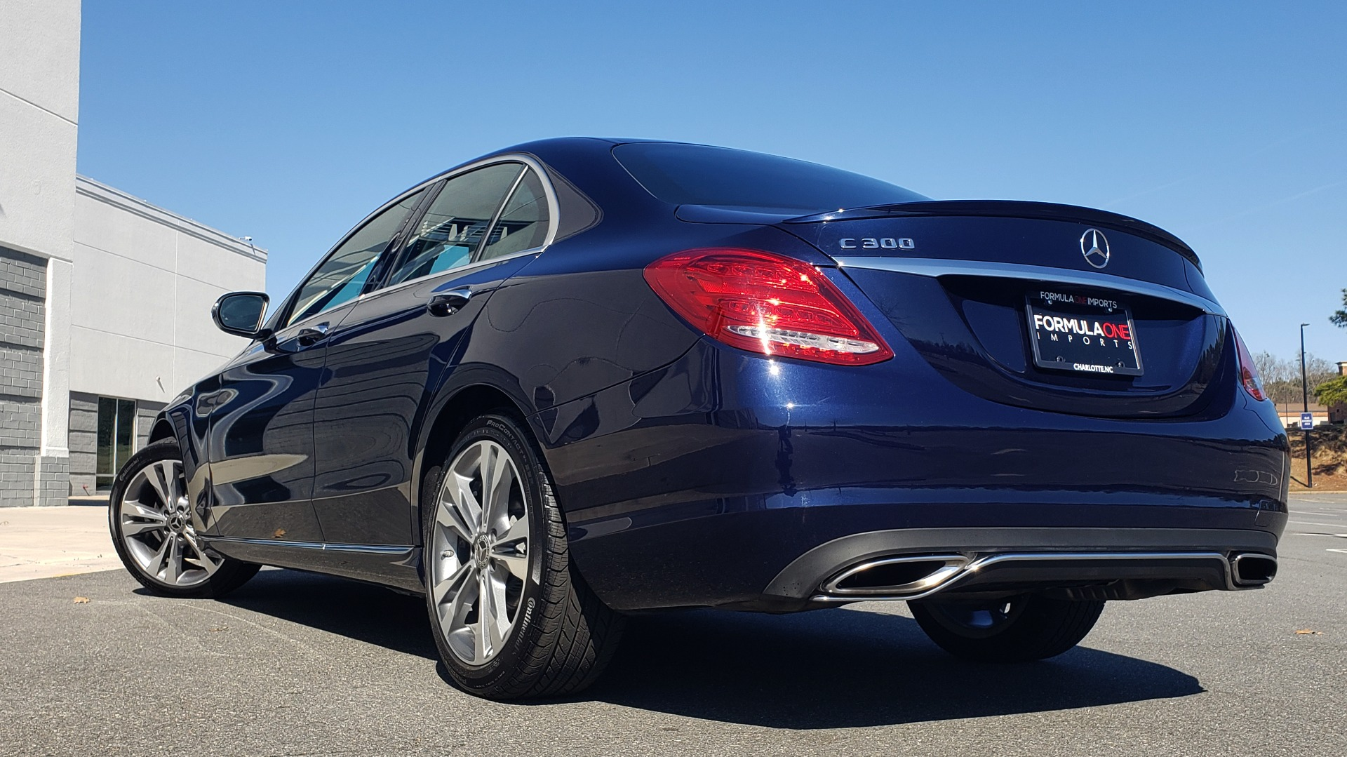 Used 2018 Mercedes-Benz C-CLASS C 300 PREMIUM / SUNROOF / BURMESTER / BSM / REARVIEW for sale $23,995 at Formula Imports in Charlotte NC 28227 2