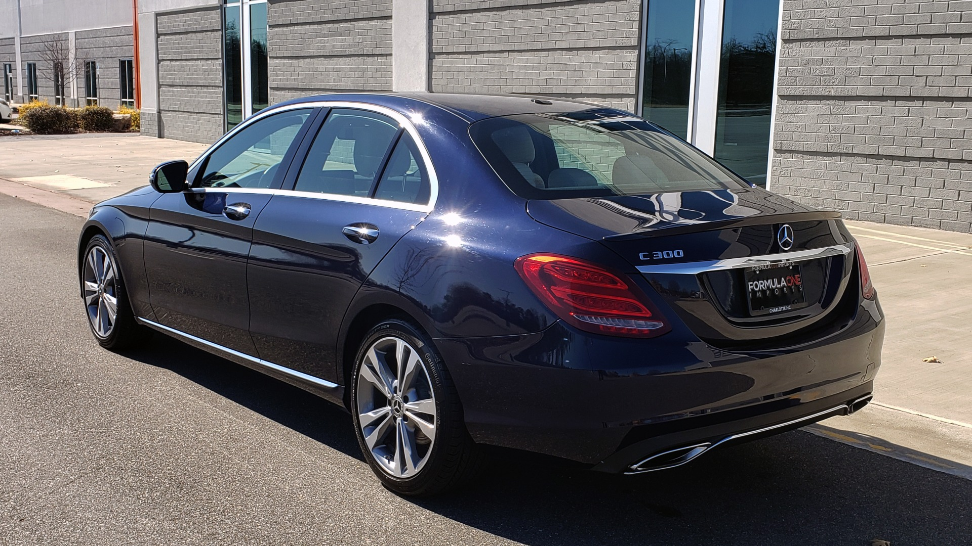 Used 2018 Mercedes-Benz C-CLASS C 300 PREMIUM / SUNROOF / BURMESTER / BSM / REARVIEW for sale $23,995 at Formula Imports in Charlotte NC 28227 4