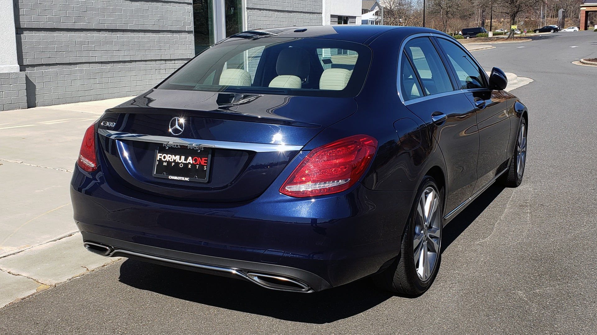Used 2018 Mercedes-Benz C-CLASS C 300 PREMIUM / SUNROOF / BURMESTER / BSM / REARVIEW for sale $23,995 at Formula Imports in Charlotte NC 28227 7