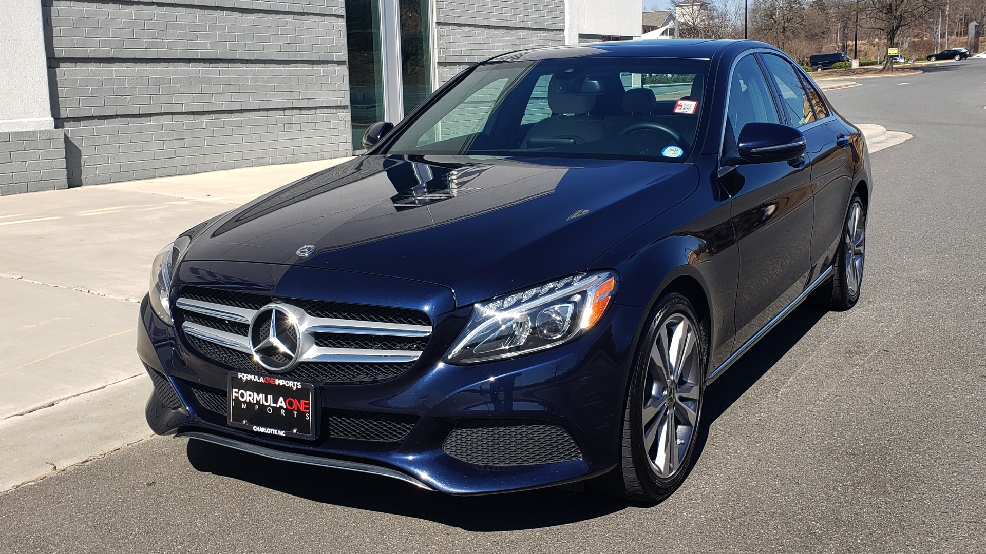 Used 2018 Mercedes-Benz C-CLASS C 300 PREMIUM / SUNROOF / BURMESTER / BSM / REARVIEW for sale $23,995 at Formula Imports in Charlotte NC 28227 1