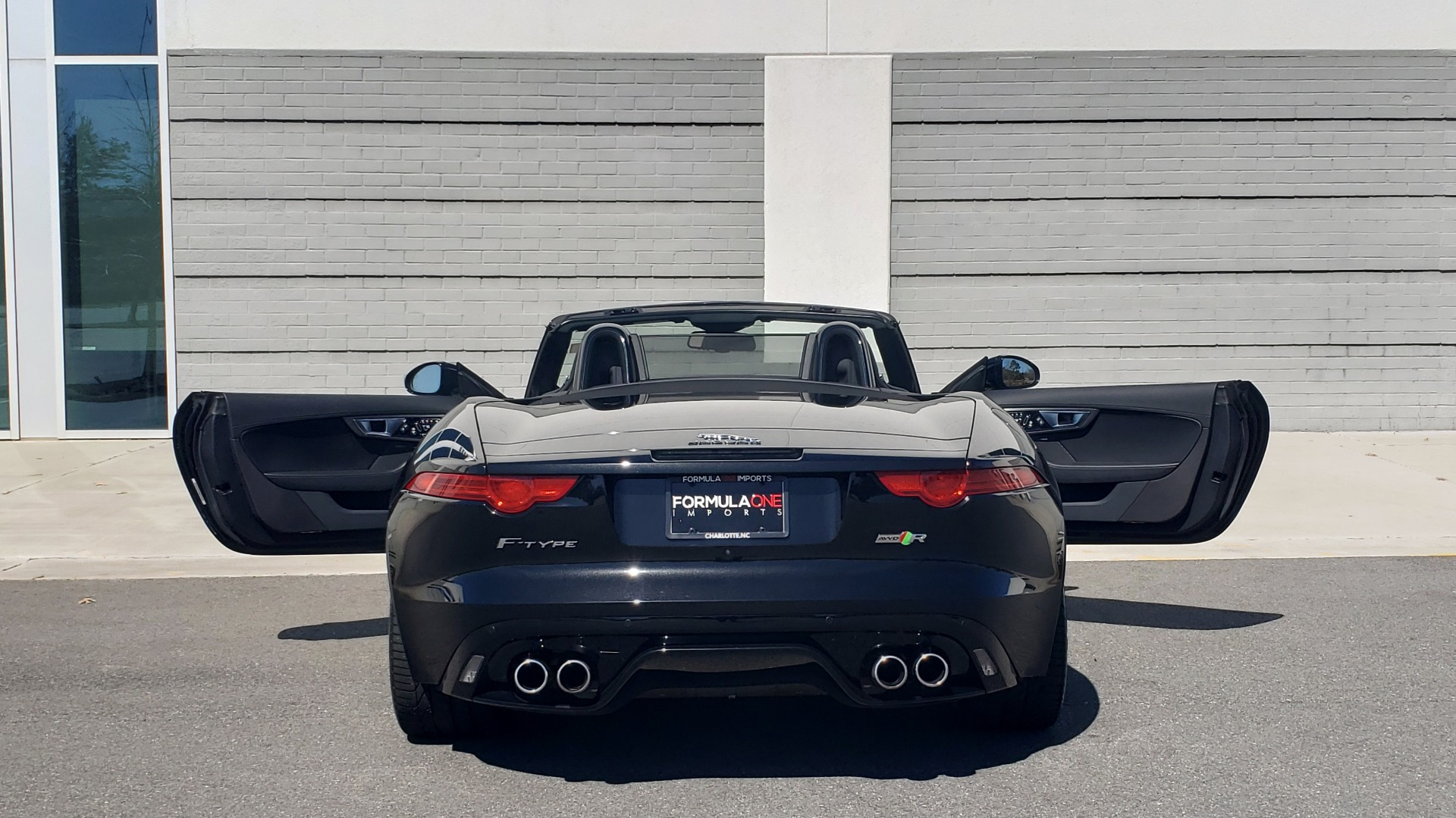 Used 2016 Jaguar F-TYPE R CONVERTIBLE / SC 5.0L 550HP / VISION PACK 3 / BSM / REARVIEW for sale $63,000 at Formula Imports in Charlotte NC 28227 75