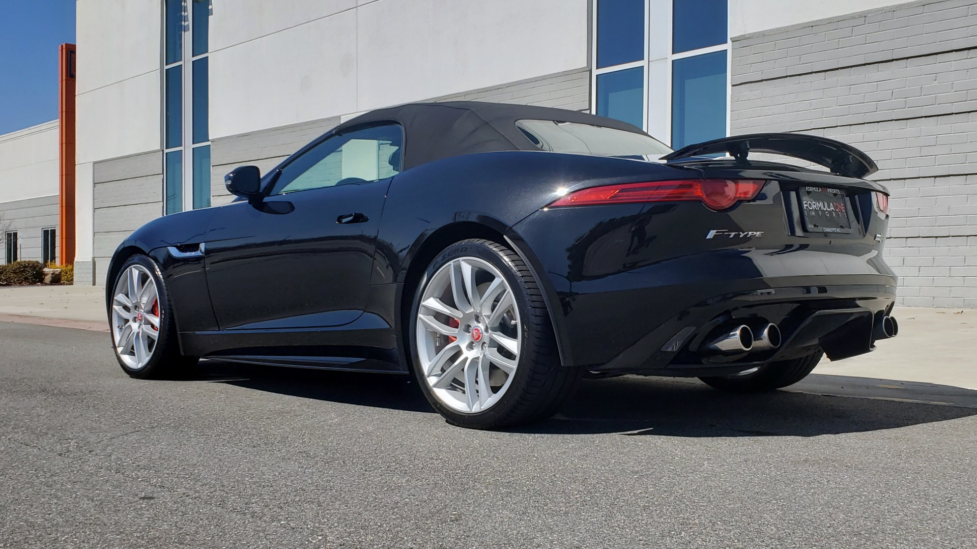 Used 2016 Jaguar F-TYPE R CONVERTIBLE / SC 5.0L 550HP / VISION PACK 3 / BSM / REARVIEW for sale $63,000 at Formula Imports in Charlotte NC 28227 9