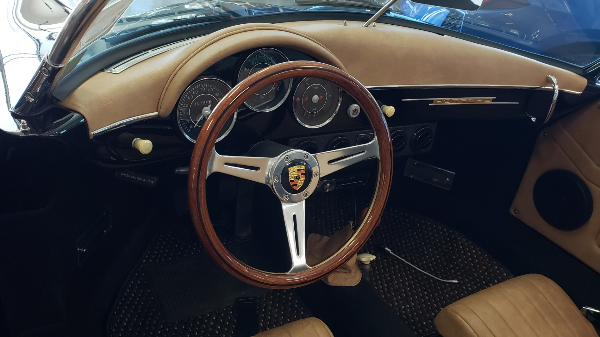 Used 1959 Porsche 356 SPEEDSTER / 4-CYL ENG / 4-SPD MANUAL / CHROME WHEELS for sale Sold at Formula Imports in Charlotte NC 28227 18