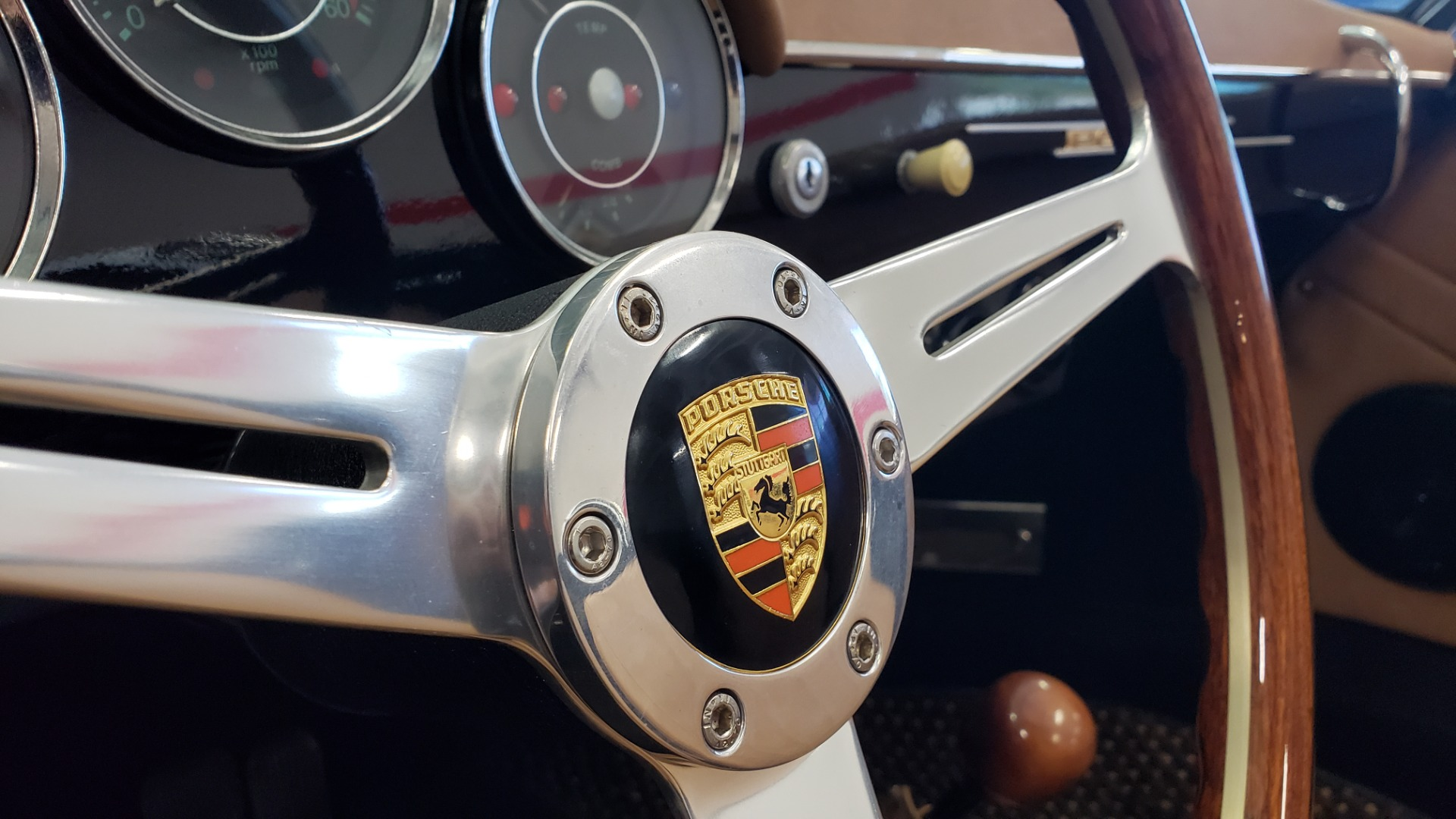 Used 1959 Porsche 356 SPEEDSTER / 4-CYL ENG / 4-SPD MANUAL / CHROME WHEELS for sale Sold at Formula Imports in Charlotte NC 28227 19