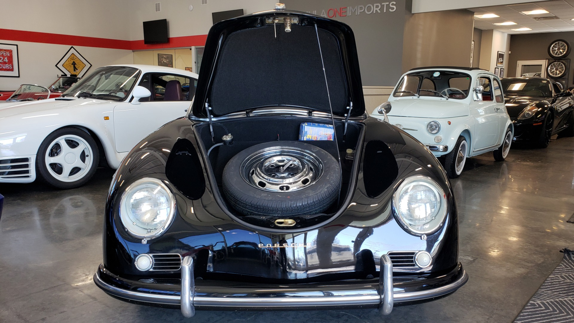 Used 1959 Porsche 356 SPEEDSTER / 4-CYL ENG / 4-SPD MANUAL / CHROME WHEELS for sale Sold at Formula Imports in Charlotte NC 28227 38