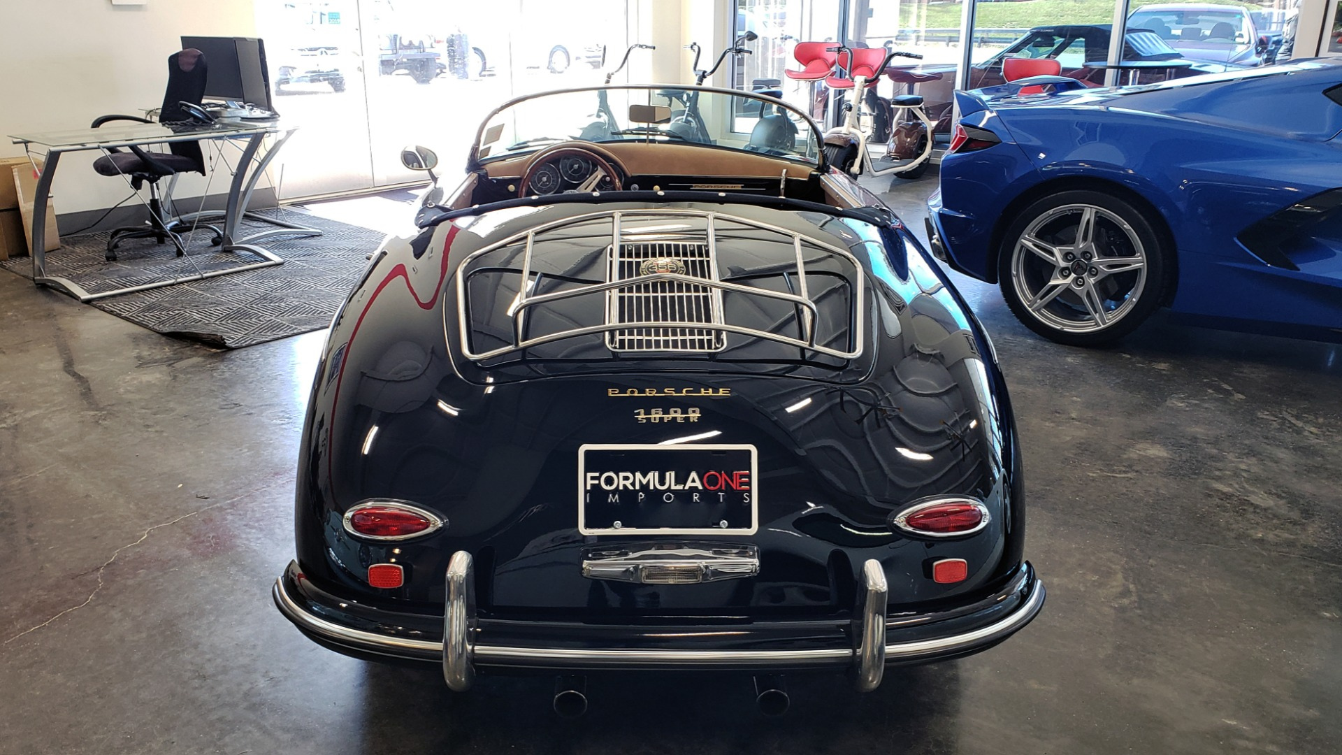 Used 1959 Porsche 356 SPEEDSTER / 4-CYL ENG / 4-SPD MANUAL / CHROME WHEELS for sale Sold at Formula Imports in Charlotte NC 28227 4