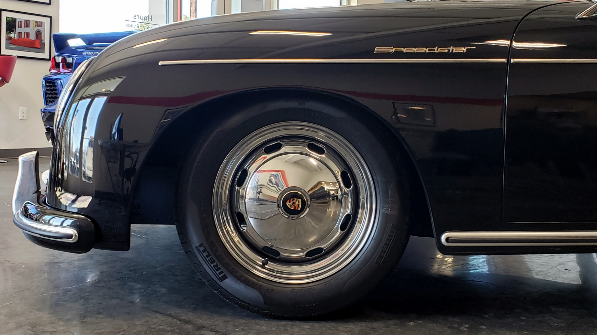 Used 1959 Porsche 356 SPEEDSTER / 4-CYL ENG / 4-SPD MANUAL / CHROME WHEELS for sale Sold at Formula Imports in Charlotte NC 28227 54