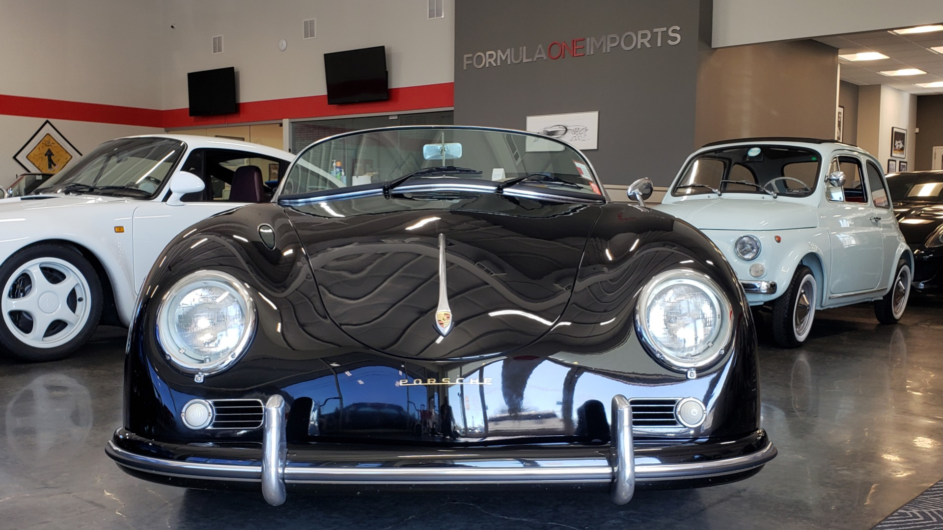 Used 1959 Porsche 356 SPEEDSTER / 4-CYL ENG / 4-SPD MANUAL / CHROME WHEELS for sale Sold at Formula Imports in Charlotte NC 28227 7