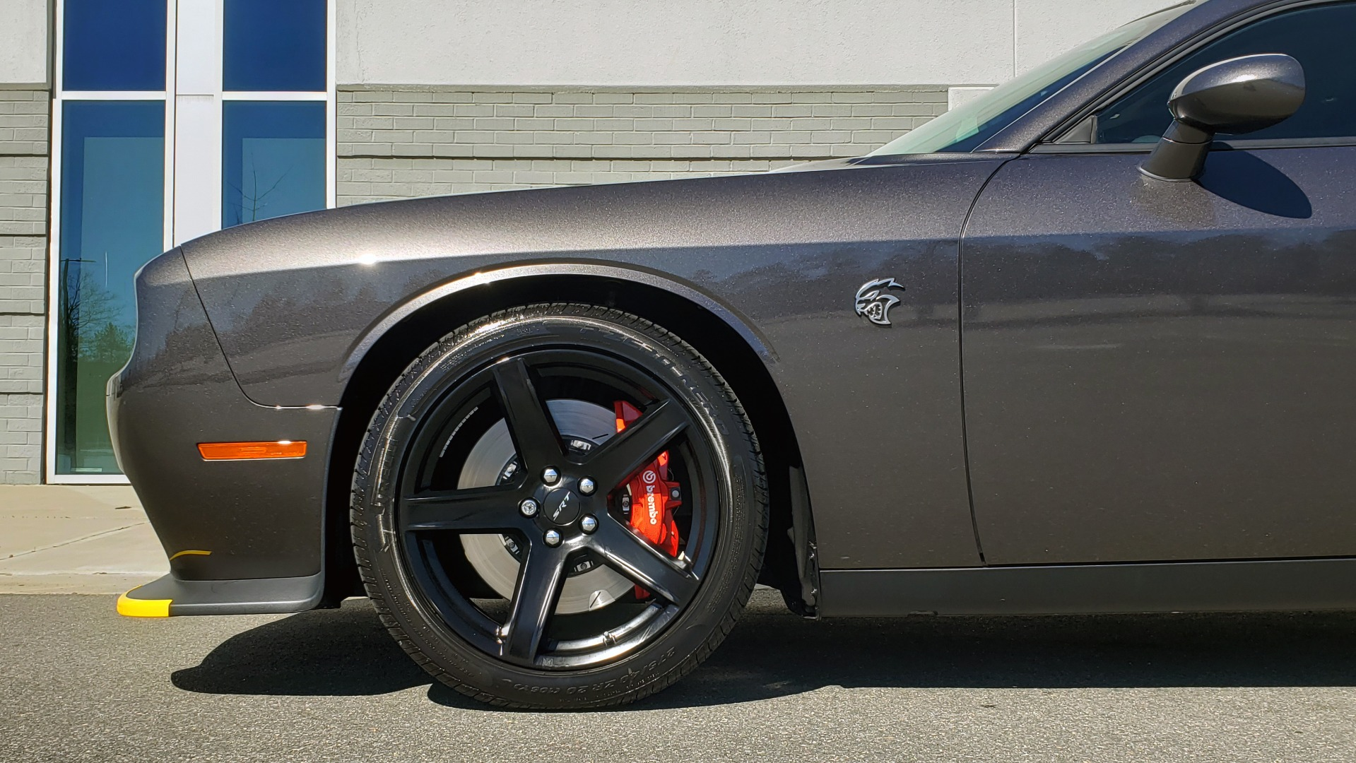 Used 2020 Dodge CHALLENGER SRT HELLCAT (717HP) / NAV / AUTO / CLOTH / REARVIEW / LOW MILES for sale $64,999 at Formula Imports in Charlotte NC 28227 77