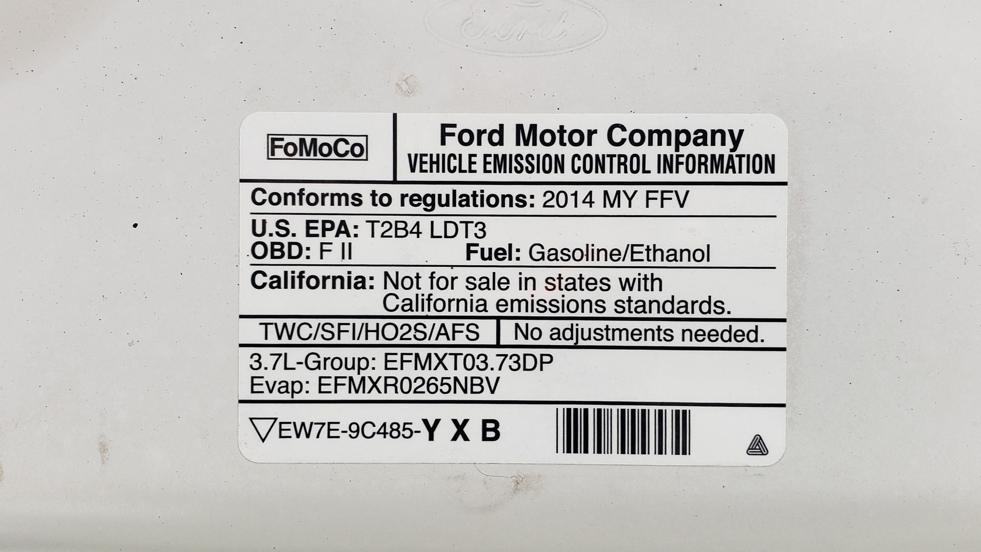 Used 2013 Ford F-150 XL / 2WD / V6 / AUTO / LONG BED / 145IN WB / WORK TRUCK for sale Sold at Formula Imports in Charlotte NC 28227 17