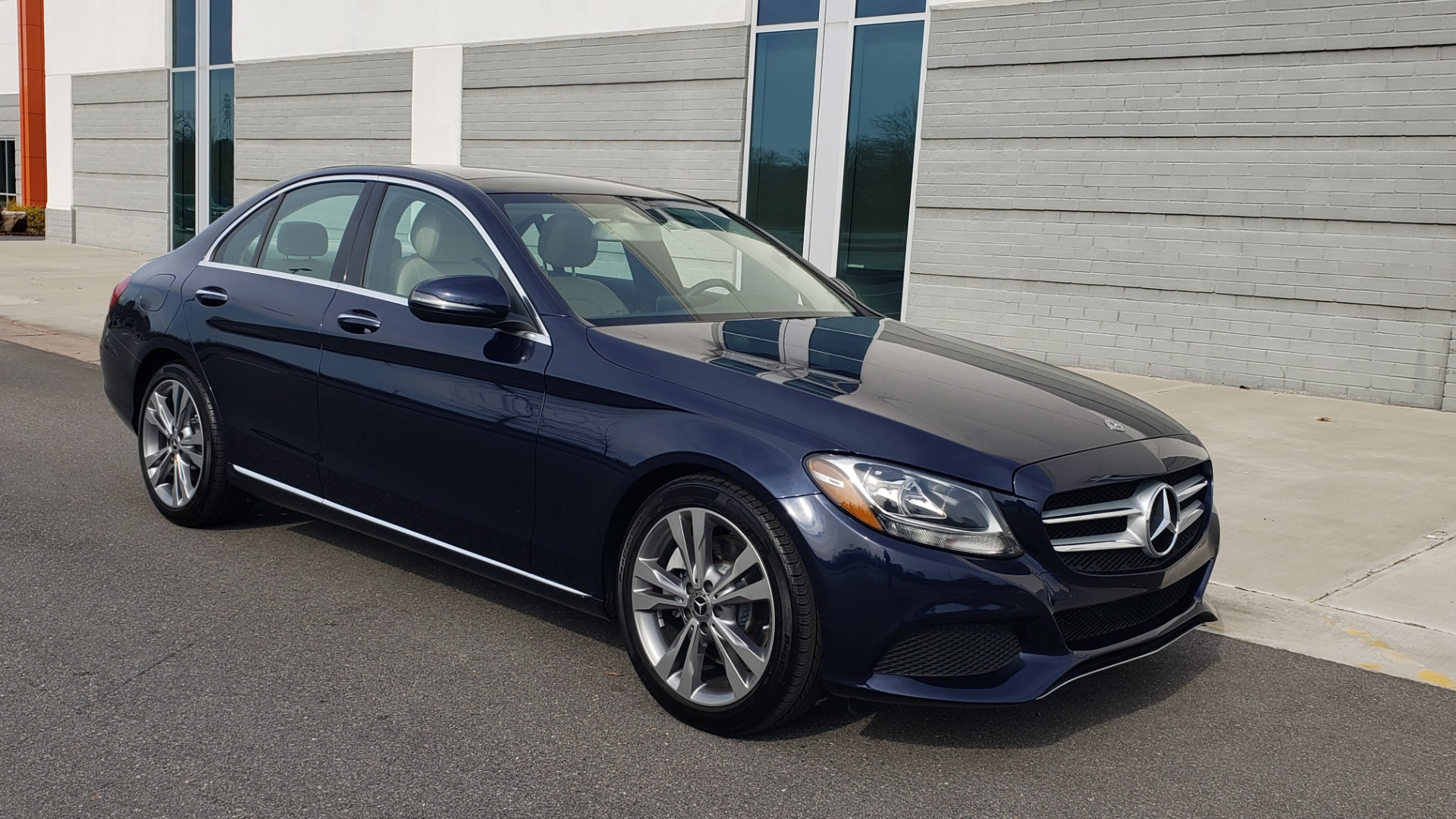 Used 2018 Mercedes-Benz C-CLASS C 300 PREMIUM / PANO-ROOF / HTD STST / APPL CARPLAY / REARVIEW for sale Sold at Formula Imports in Charlotte NC 28227 10