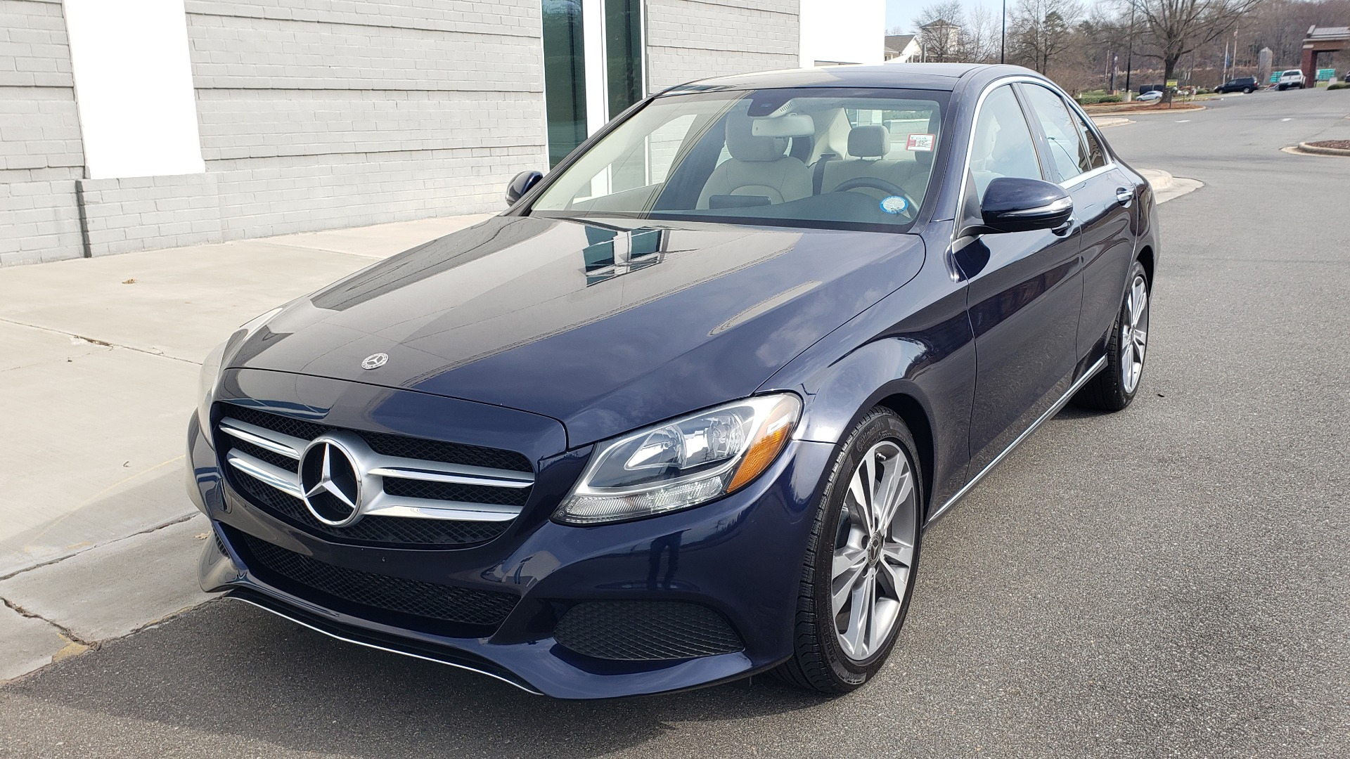 Used 2018 Mercedes-Benz C-CLASS C 300 PREMIUM / PANO-ROOF / HTD STST / APPL CARPLAY / REARVIEW for sale Sold at Formula Imports in Charlotte NC 28227 3