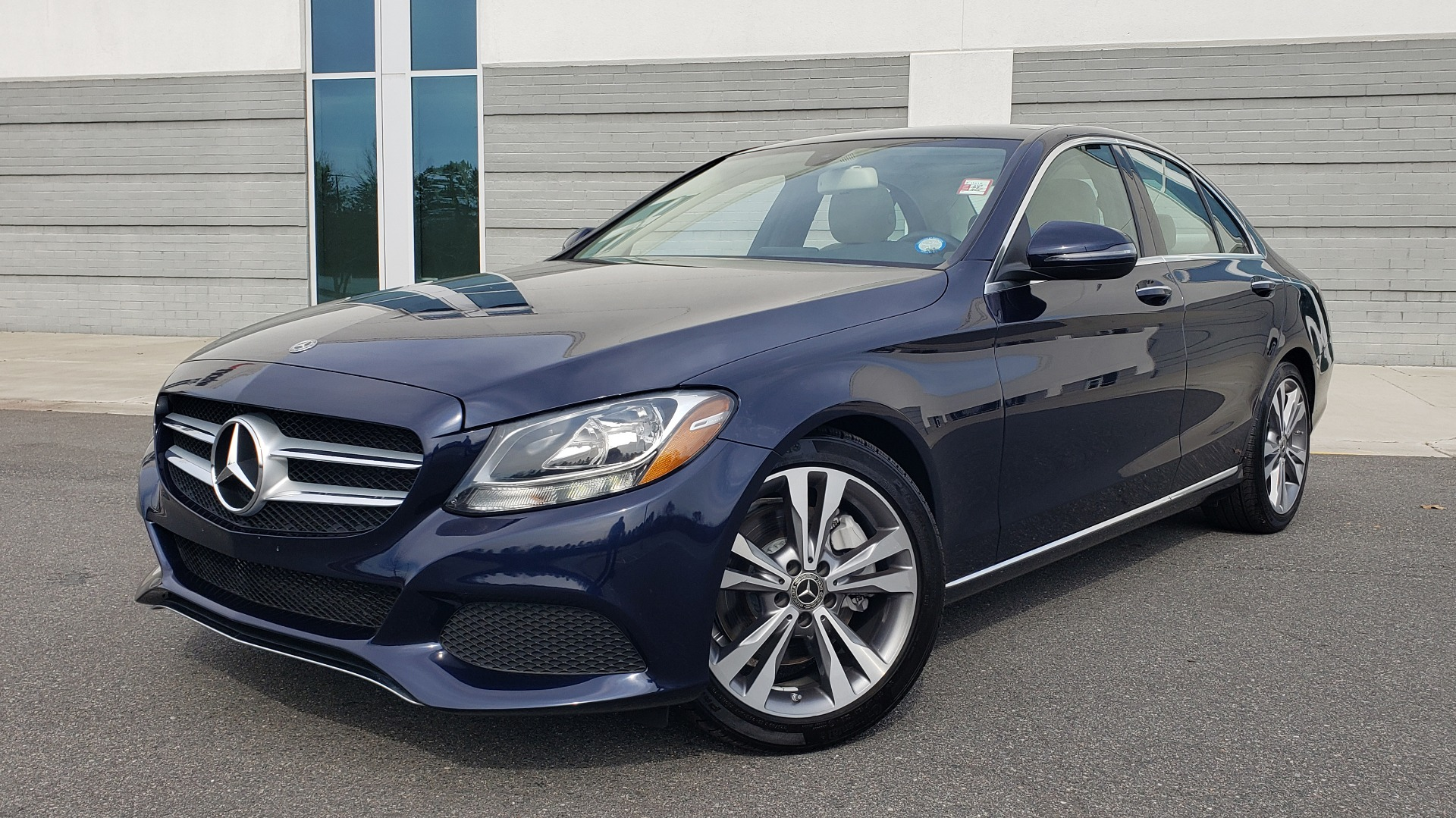 Used 2018 Mercedes-Benz C-CLASS C 300 PREMIUM / PANO-ROOF / HTD STST / APPL CARPLAY / REARVIEW for sale Sold at Formula Imports in Charlotte NC 28227 1